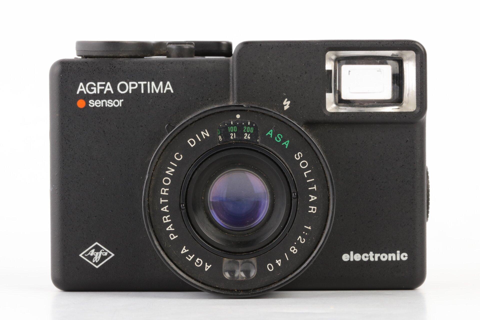 Agfa Optima Sensor electronic Solitar 2,8/40mm