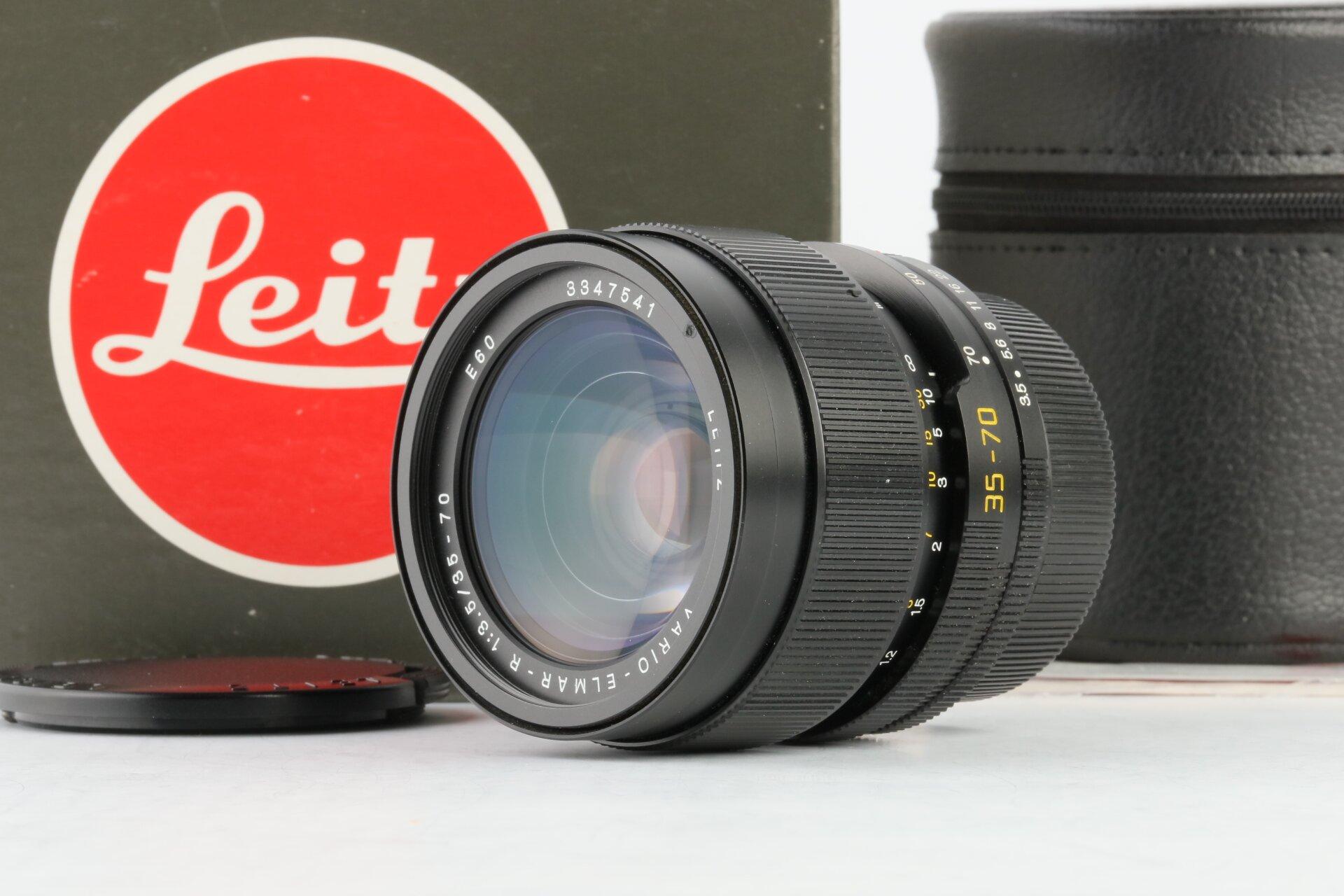 Leica R Objektiv Vario-Elmar-R 3,5/35-70mm 3CAM E60 11244