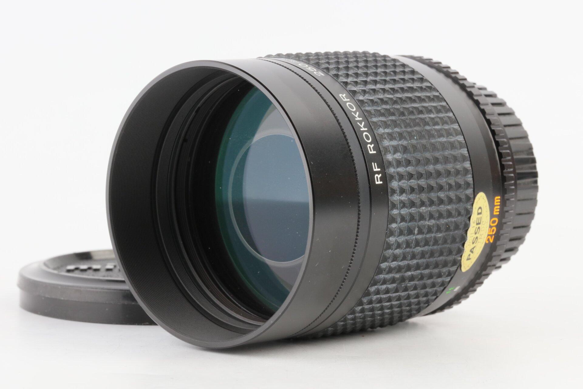 Minolta RF Rokkor 250mm/5,6 Spiegeltele