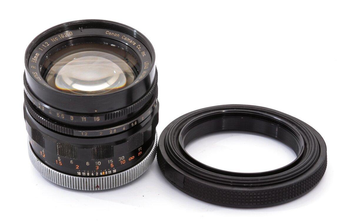 Canon Canonflex RM Super-Canomatic R 58mm f1.2 FD
