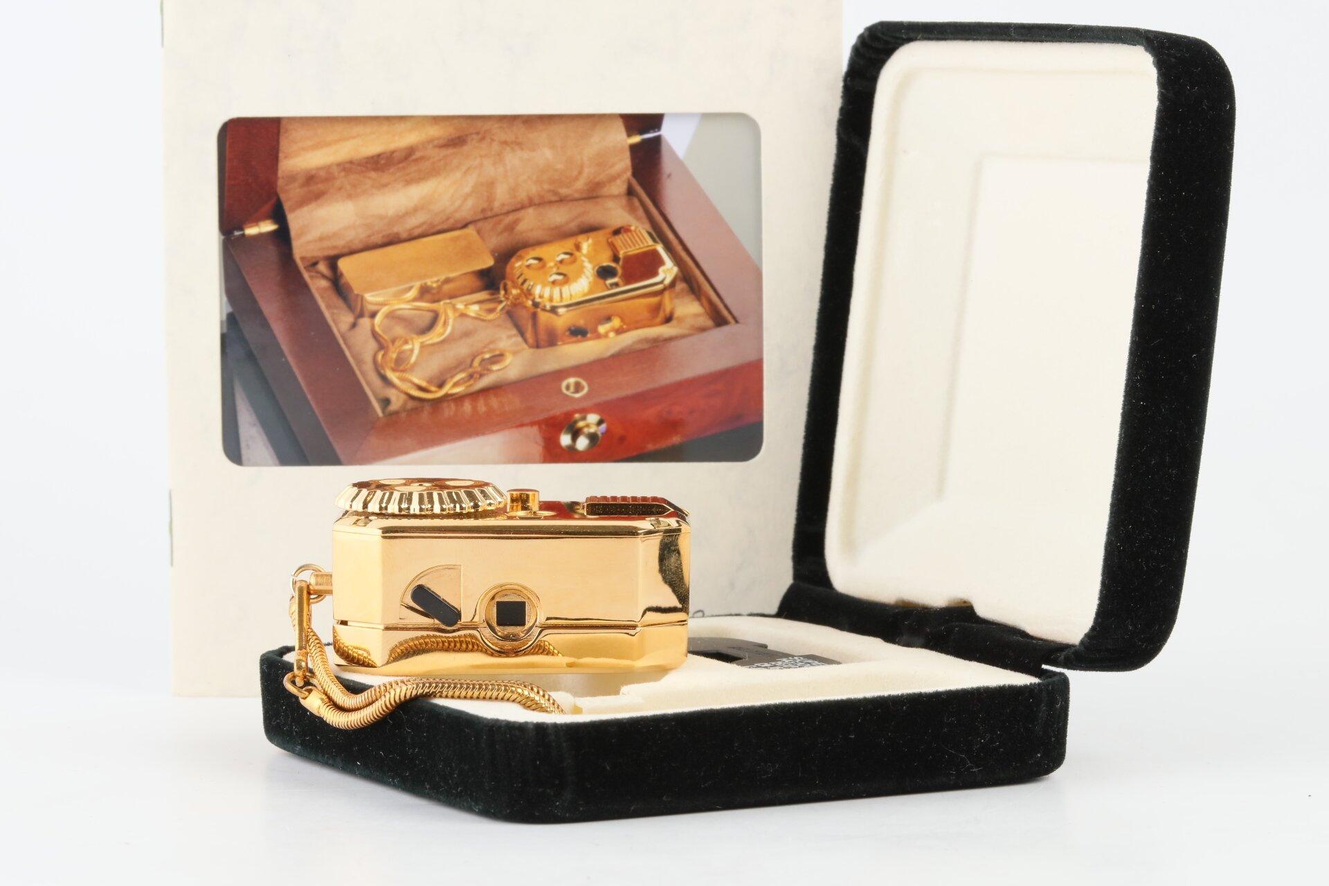 Vicam - Antik 8x11 Chad Camera Siegen 24 Karat handvergoldet - rare