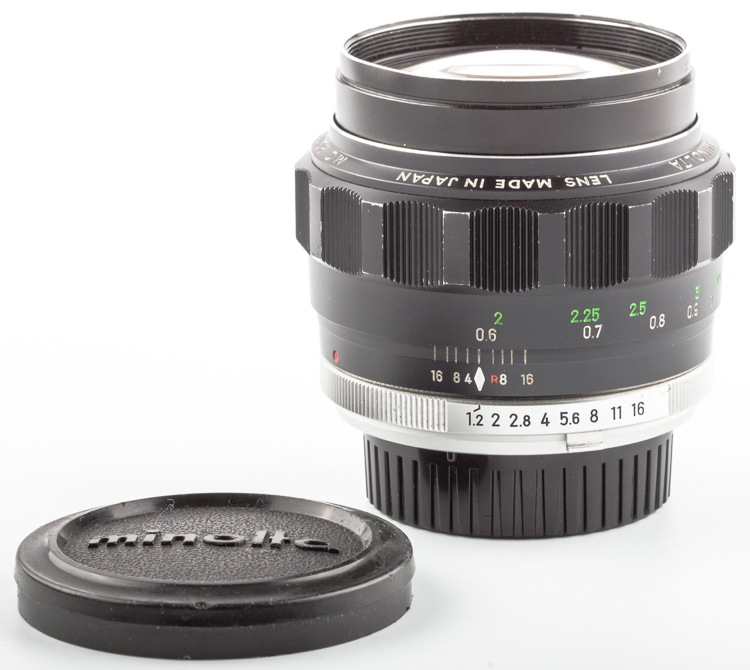 Minolta MC-Rokkor-PG 1,2/58mm