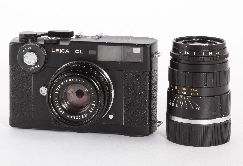Leica CL + 2,0/40mm + 4,0/90mm