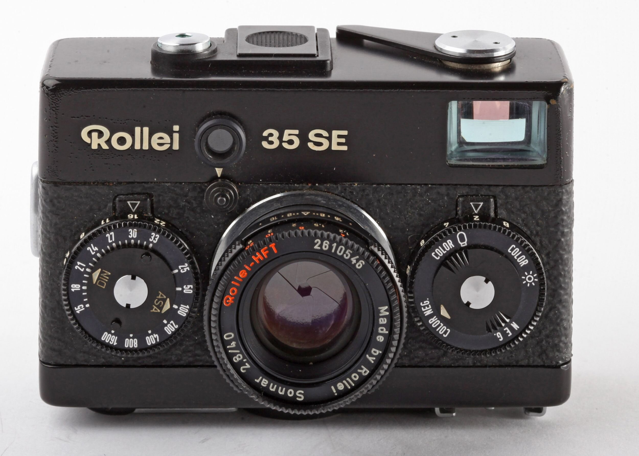 Rollei 35 SE schwarz