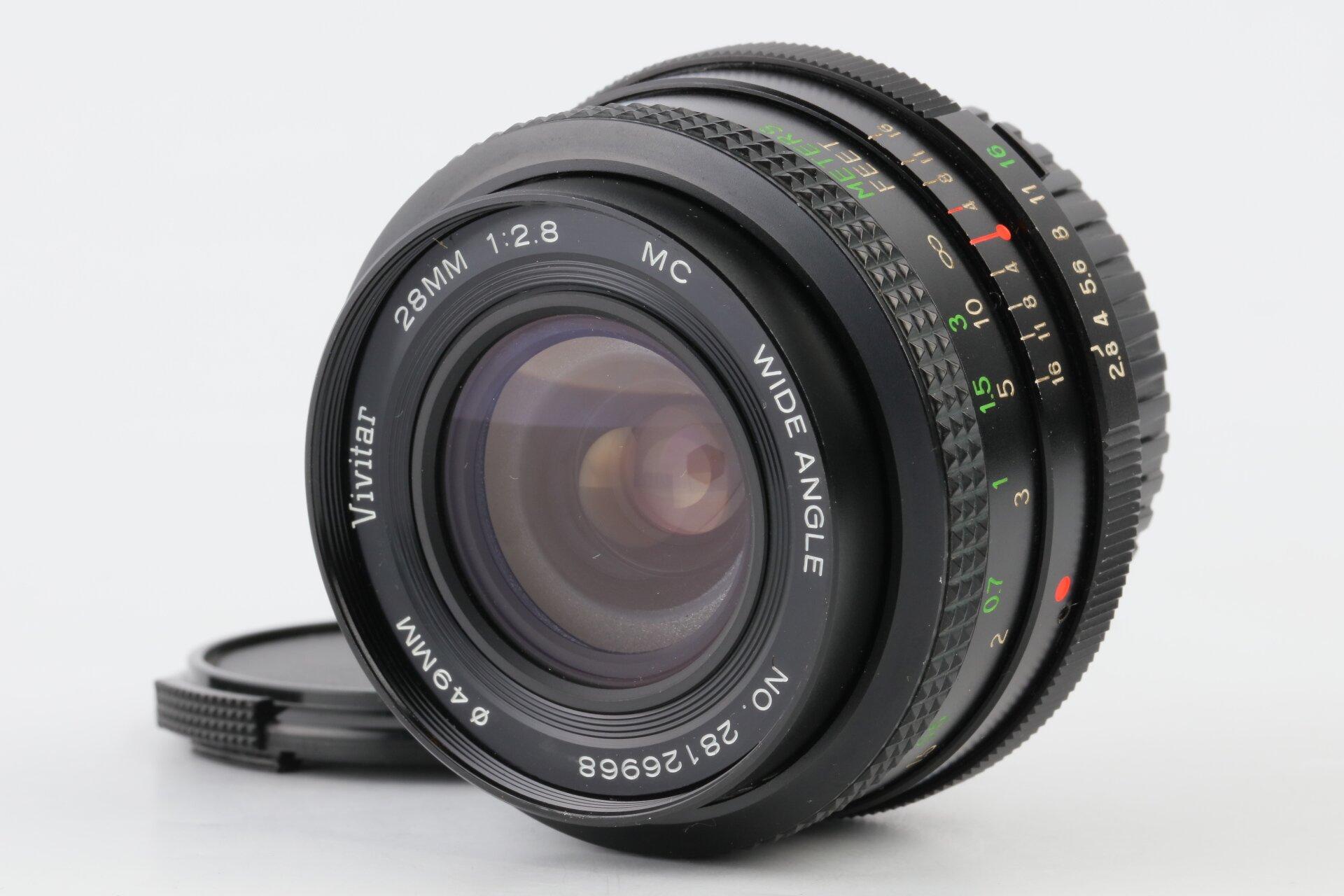 Vivitar 28mm 2,8 MC Minolta MD