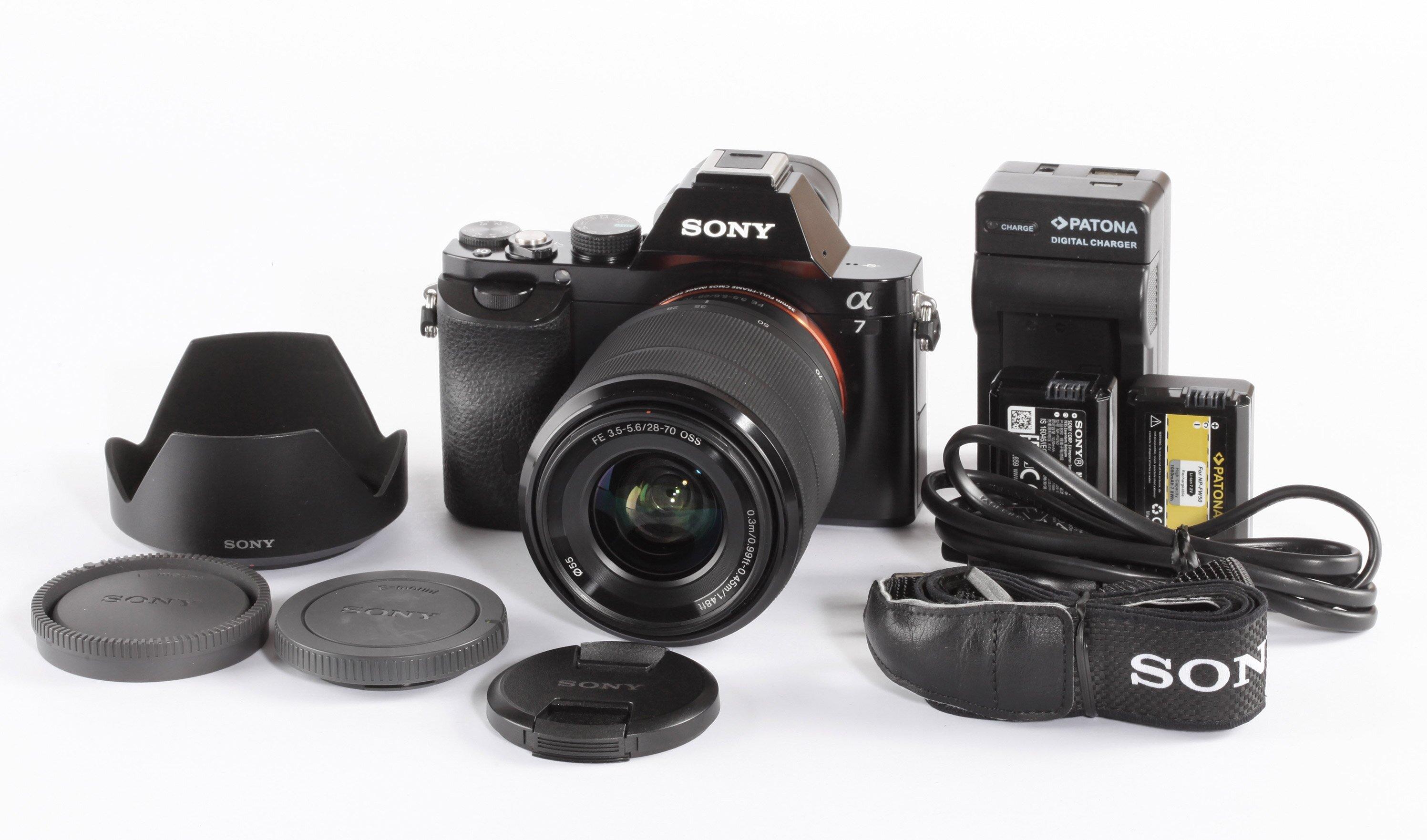 Sony Alpha 7 + FE 3,5-5,6/28-70mm 1500 Auslösungen