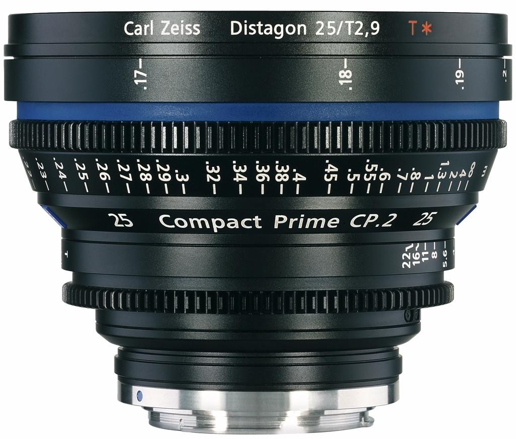 ZEISS f. PL mount CP.2 25 mm 1:2,9 T* Meter