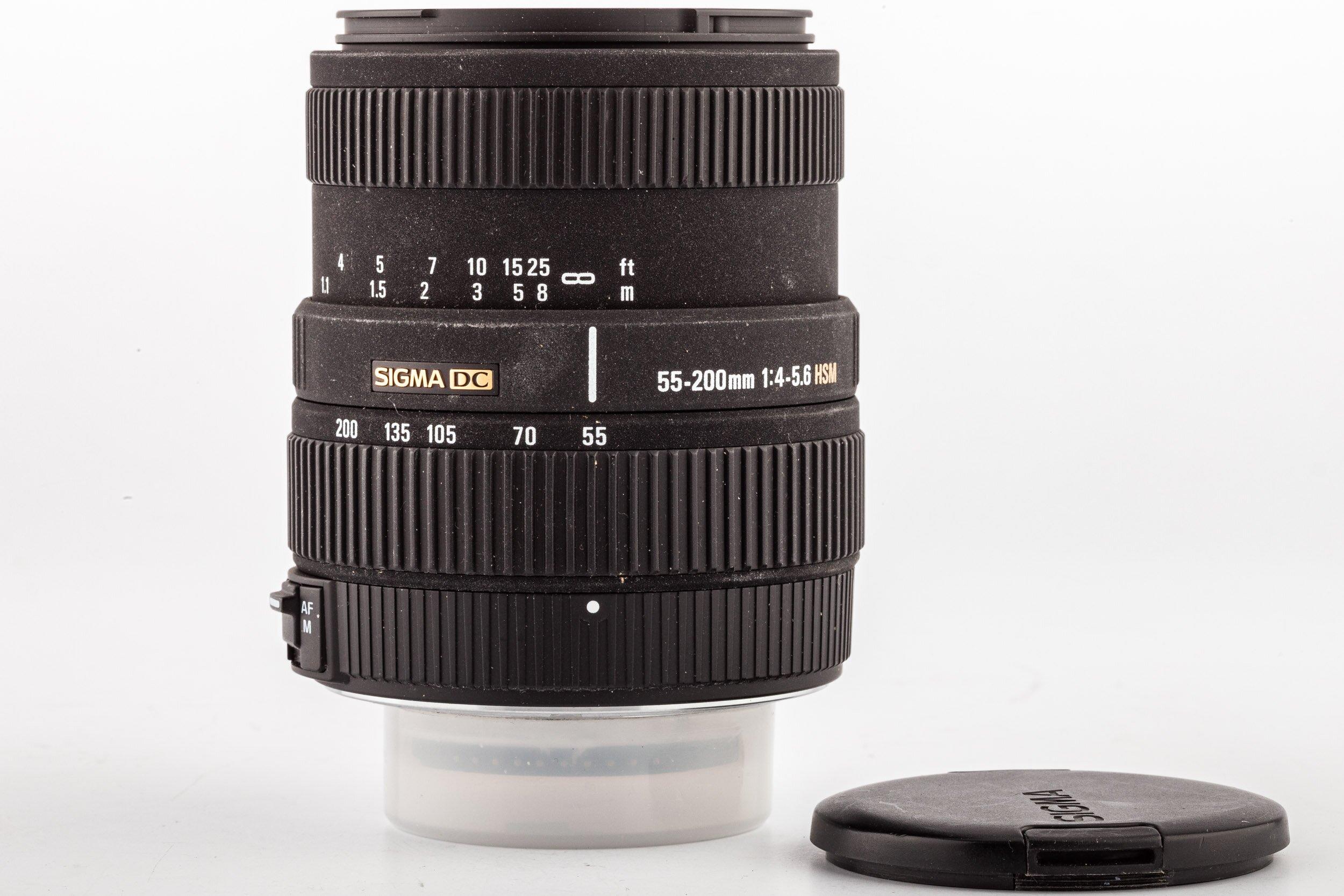 Sigma AF 55-200mm F4.0-5.6 HSM DC Nikon
