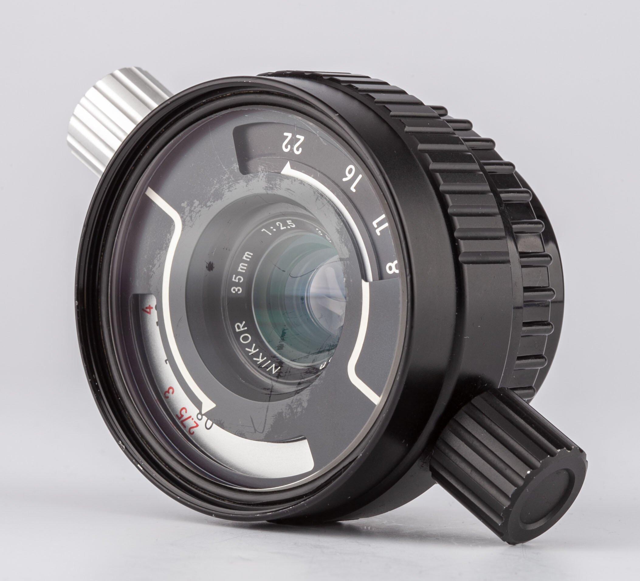Nikon W Nikkor 35mm F2.5 Nikonos System
