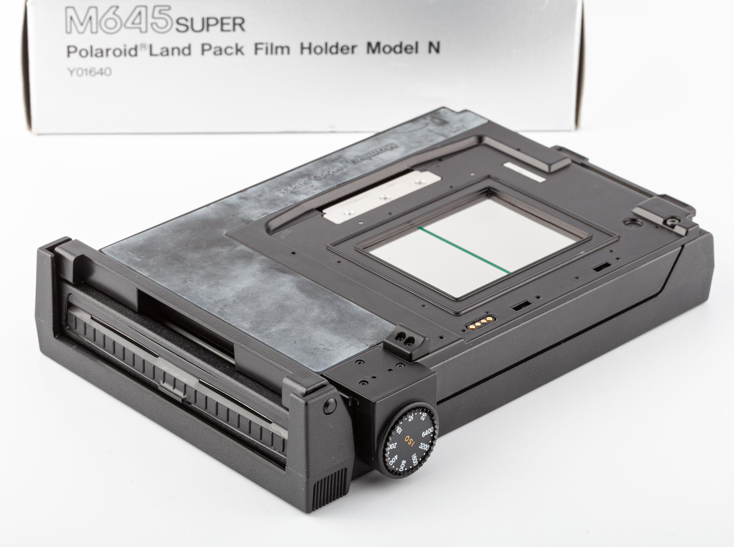 Mamiya M645 Super Polaroid Land Pack Model N