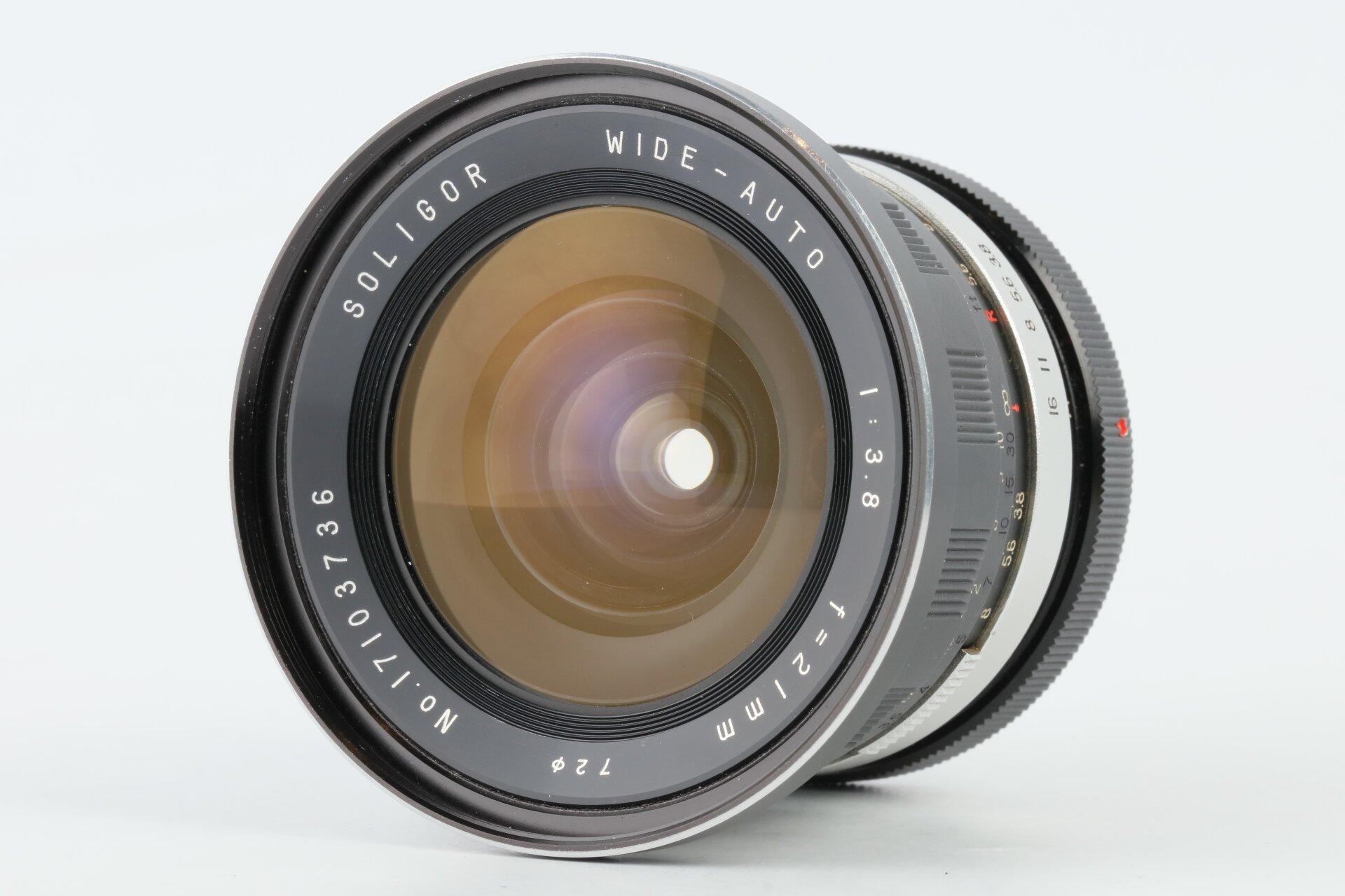 Soligor wide-auto 3,8/21mm Canon FD