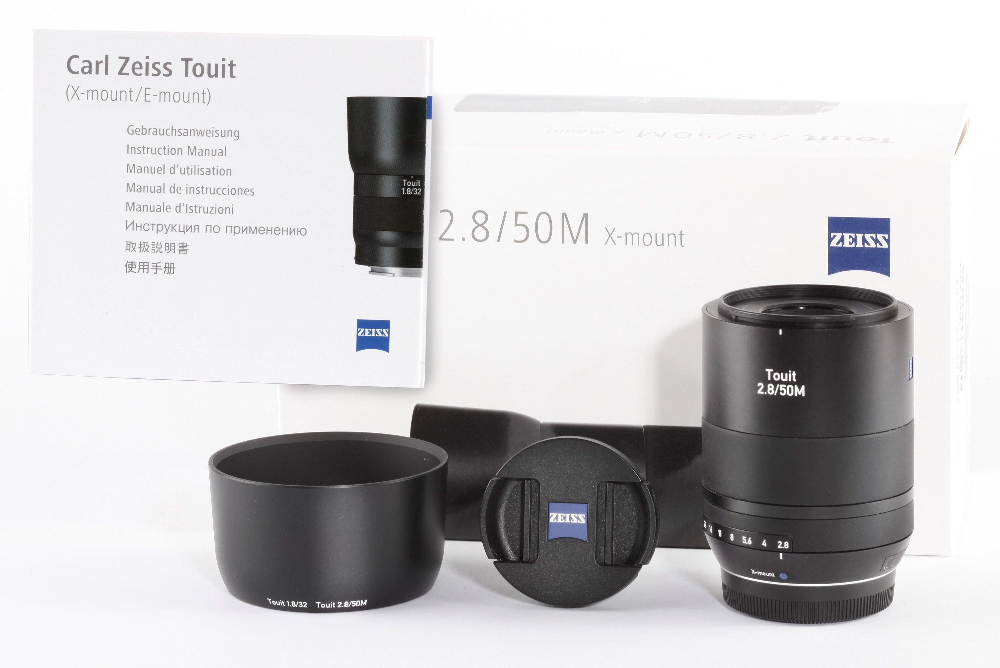 Zeiss Touit 50mm 2,8 f. Fujifilm X-Mount