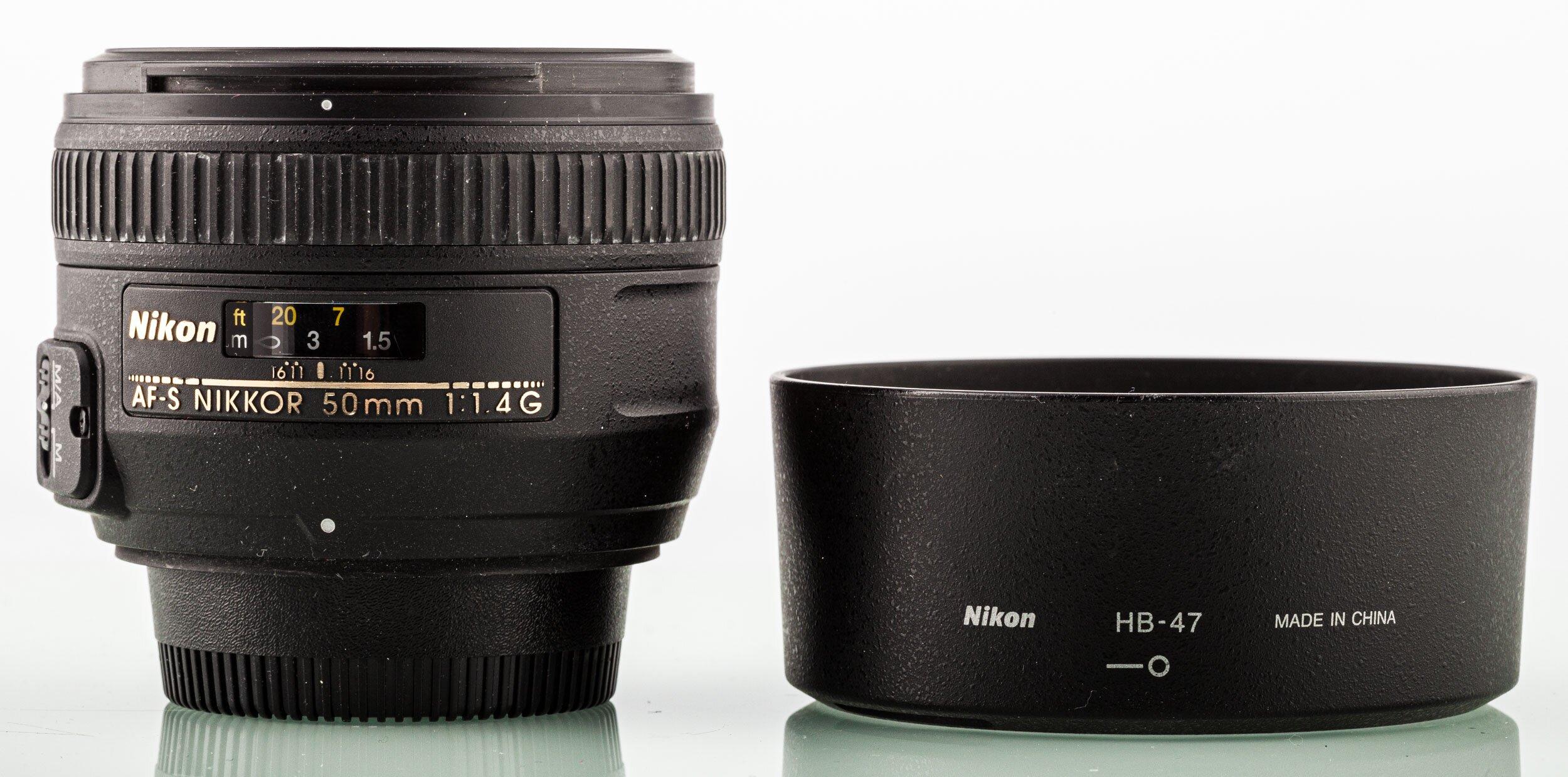 Nikon AF-S Nikkor 50mm 1,4 G