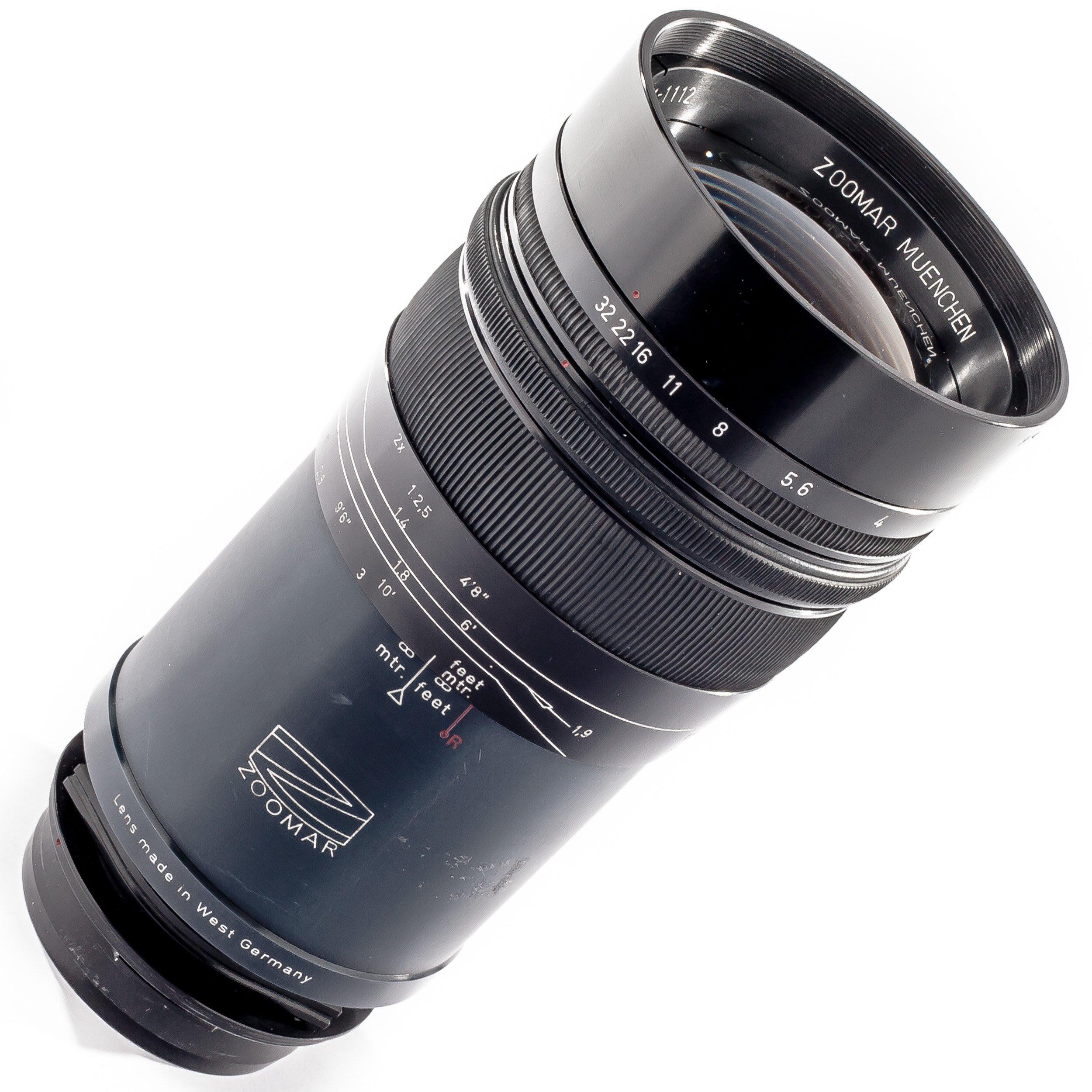 Zoomar 4/300mm Pan-Tele-Kilar Prototyp
