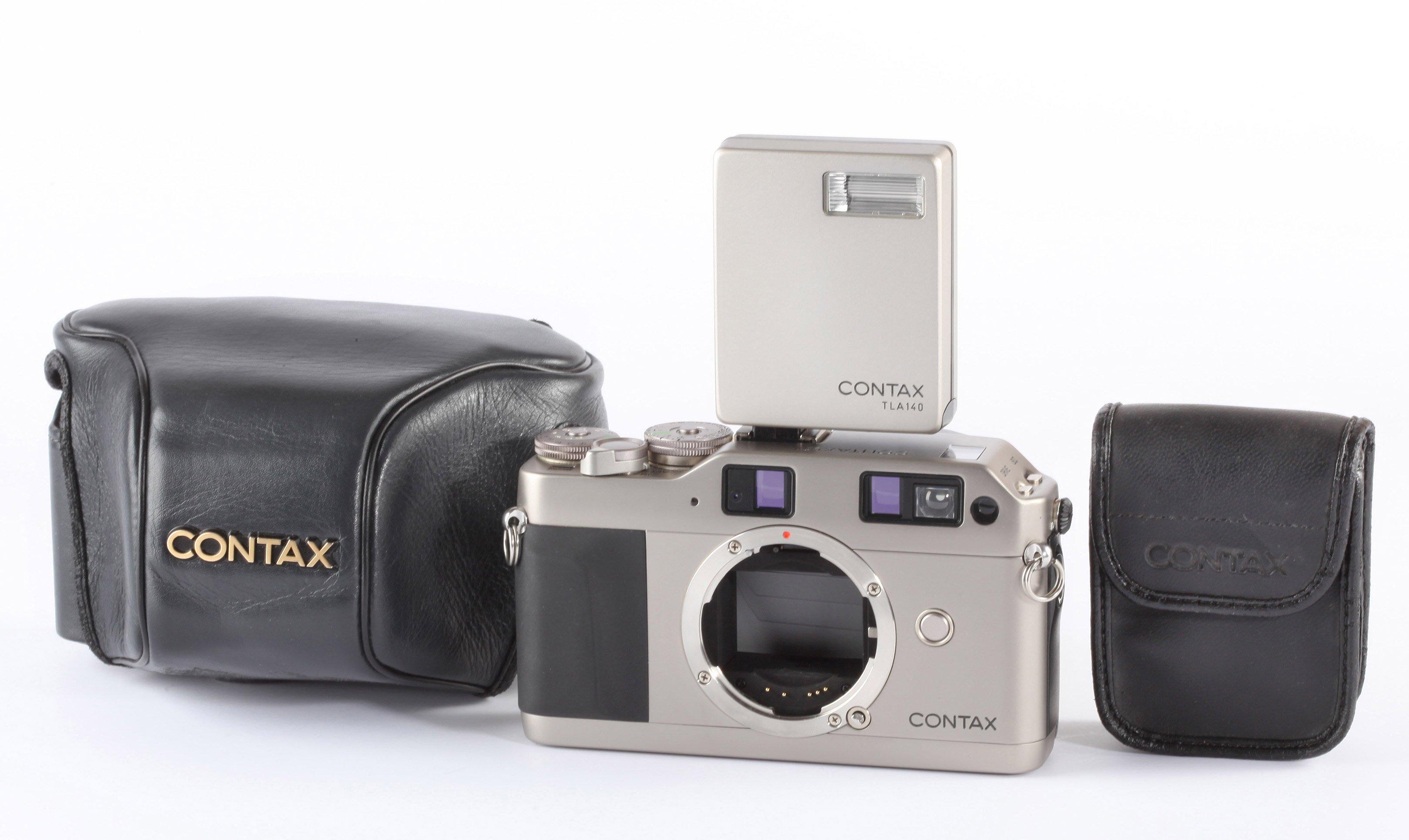 Contax G1 body mit TLA140 flash