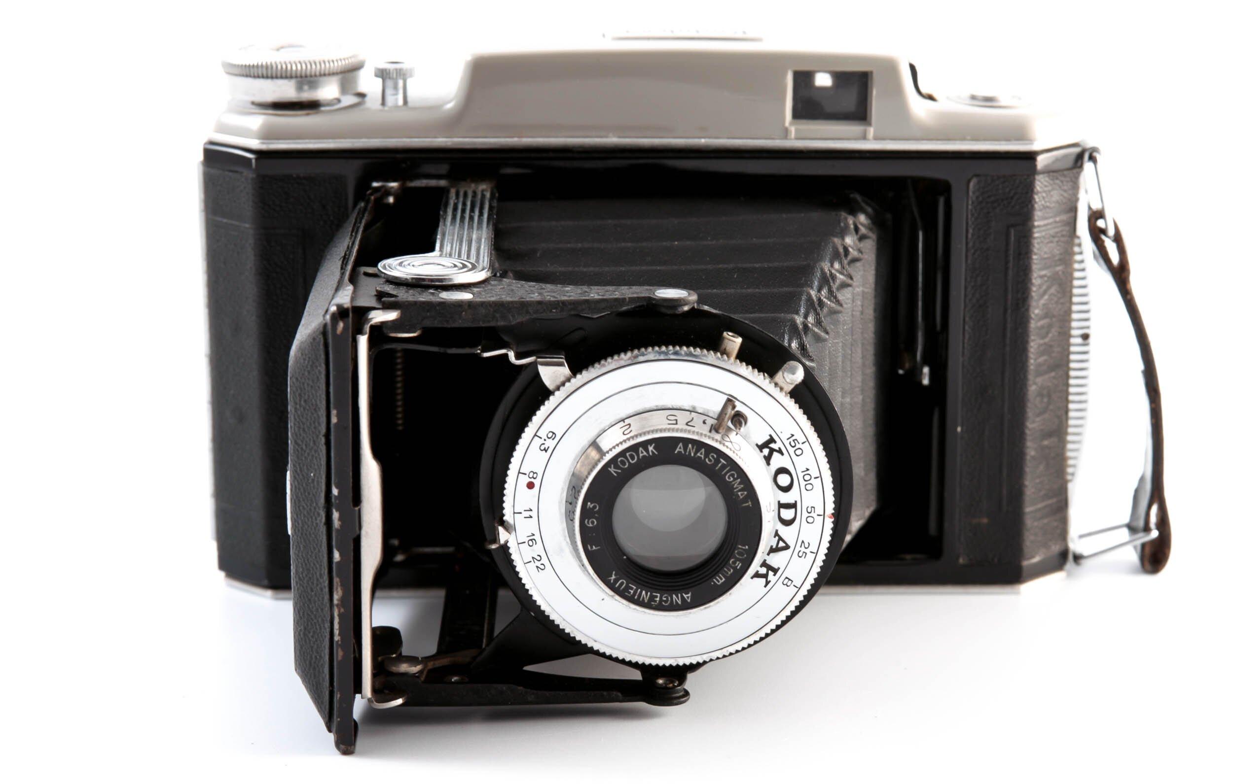 Kodak 6.3 Modele 21 mit 105mm 1:6,3 Angenieux Anastigmat