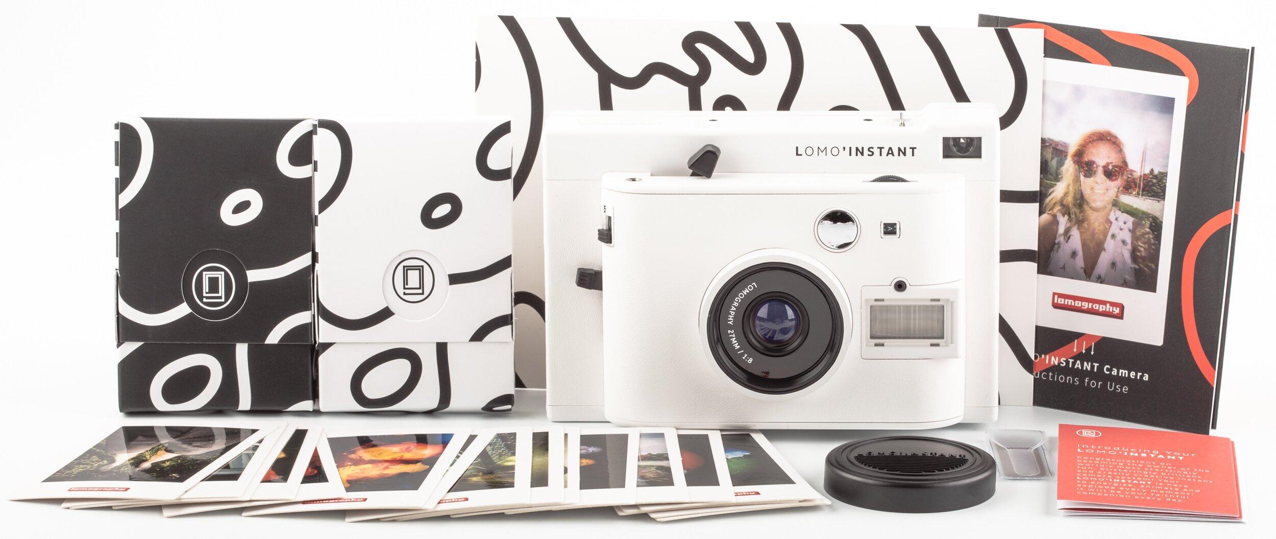 Lomo Instant white Sofortbild-Kamera