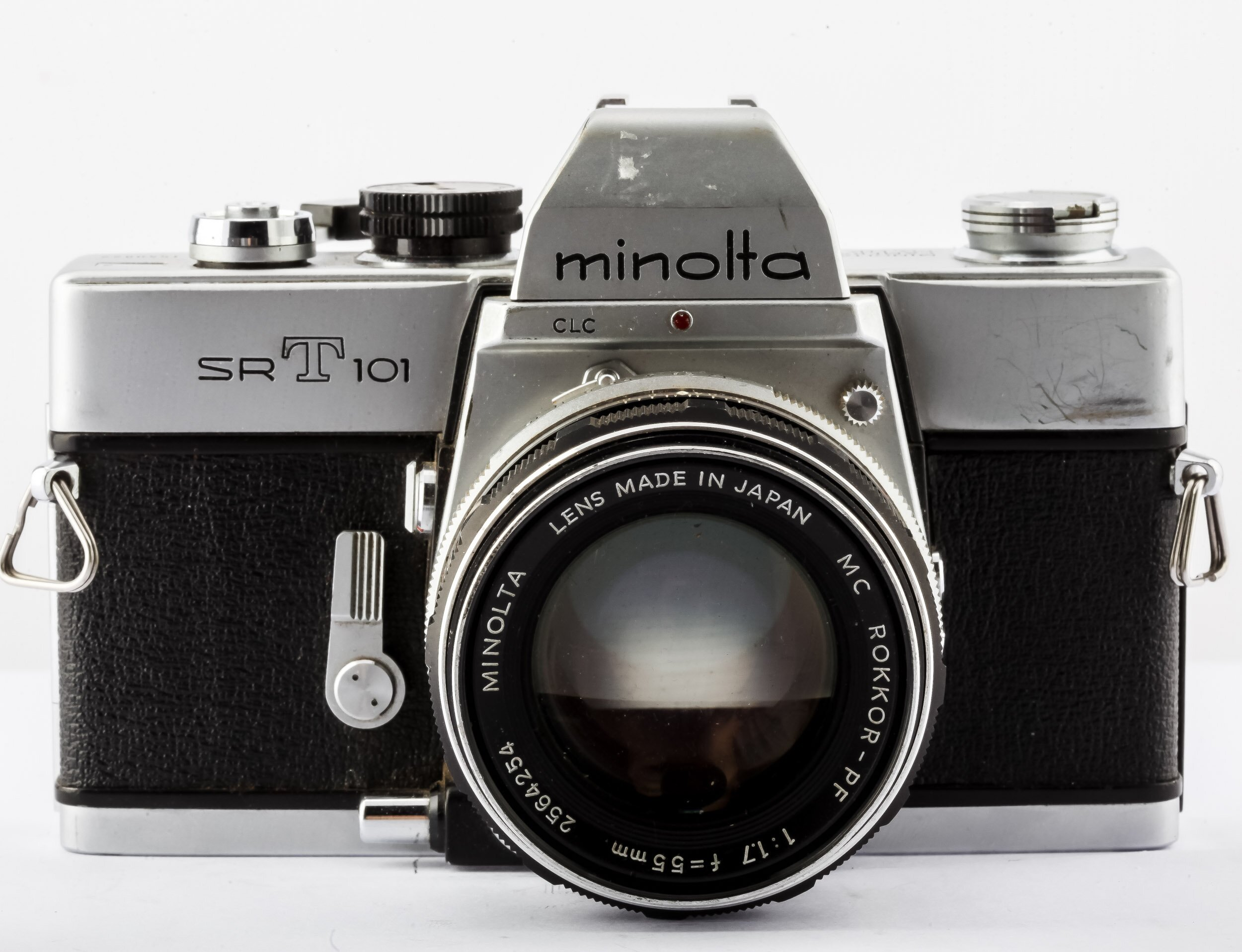 Minolta SRT101 + Minolta MC Rokkor-PF 1,7/55mm