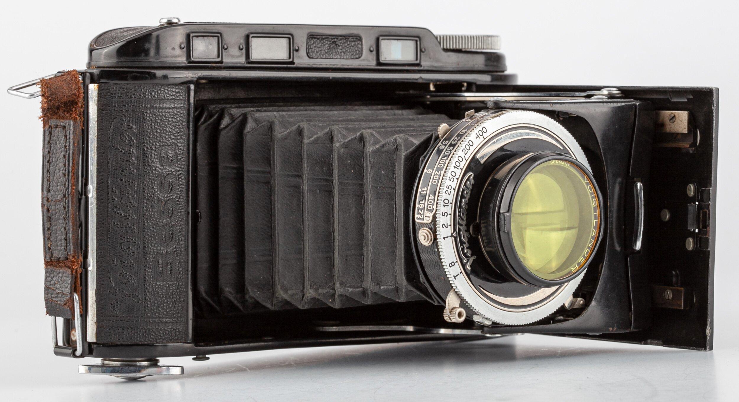 Voigtländer Bessa I Klappkamera mit  Skopar 3,5/10,5cm