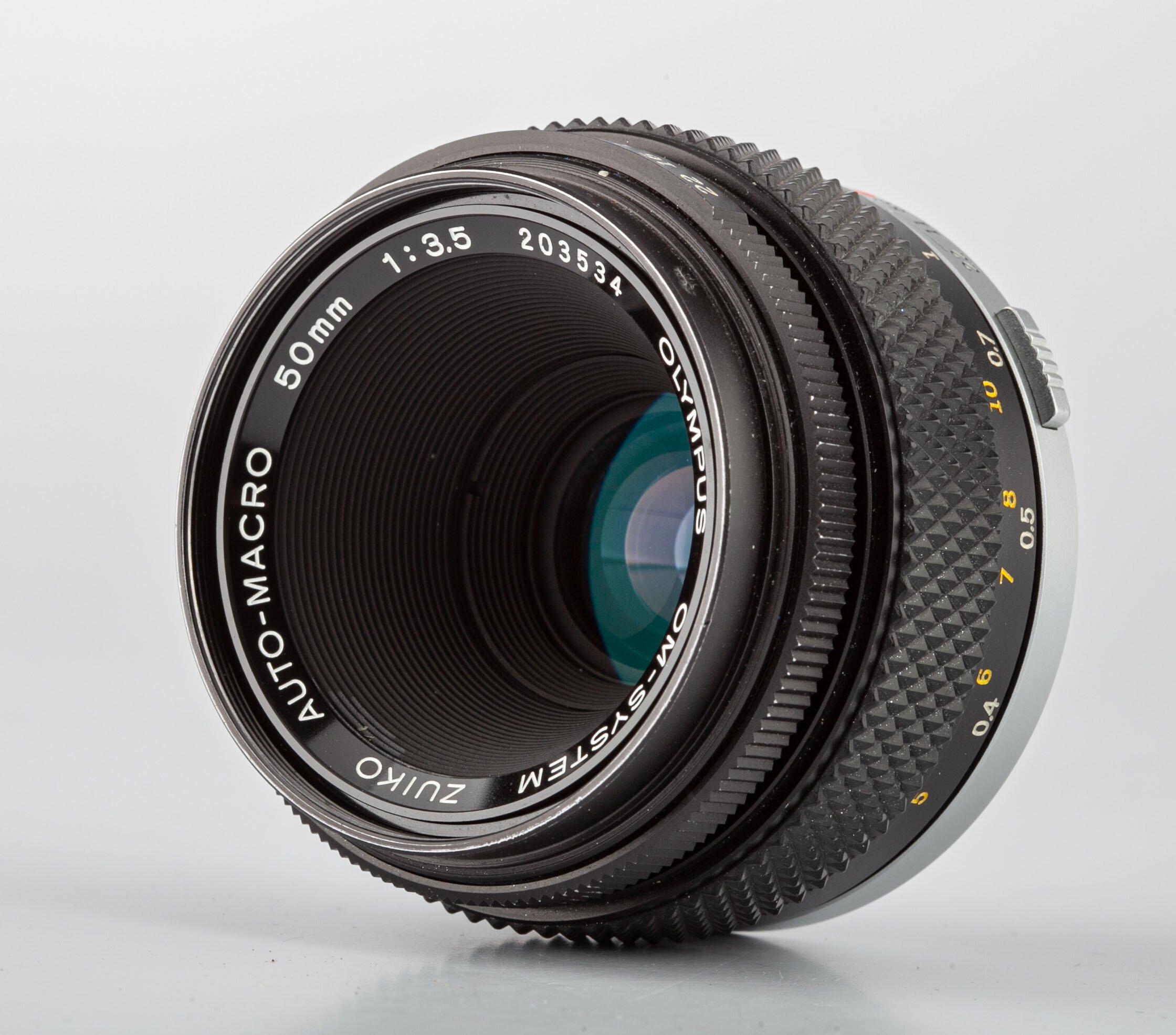 Olympus OM-System Auto-Makro 3,5/50mm Objektiv