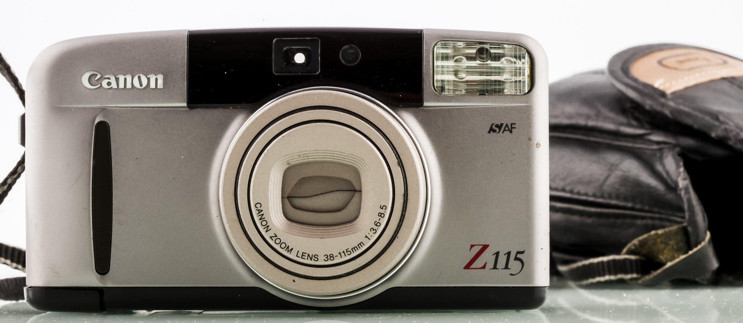 Canon Sure Shot Z115 Analoge Sucherkamera
