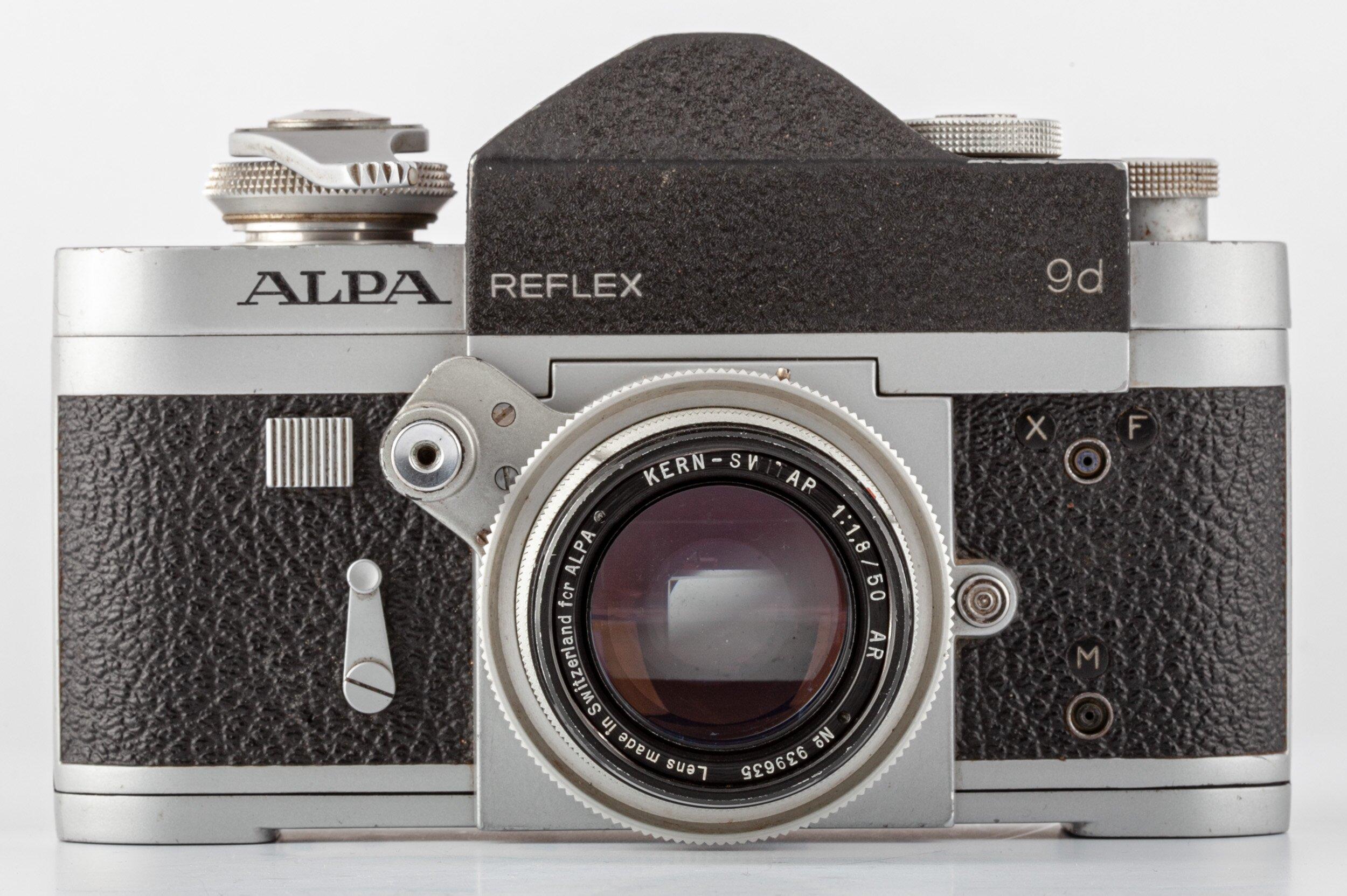 Alpa Reflex 9d  Kern-Switar 1,8/50 AR