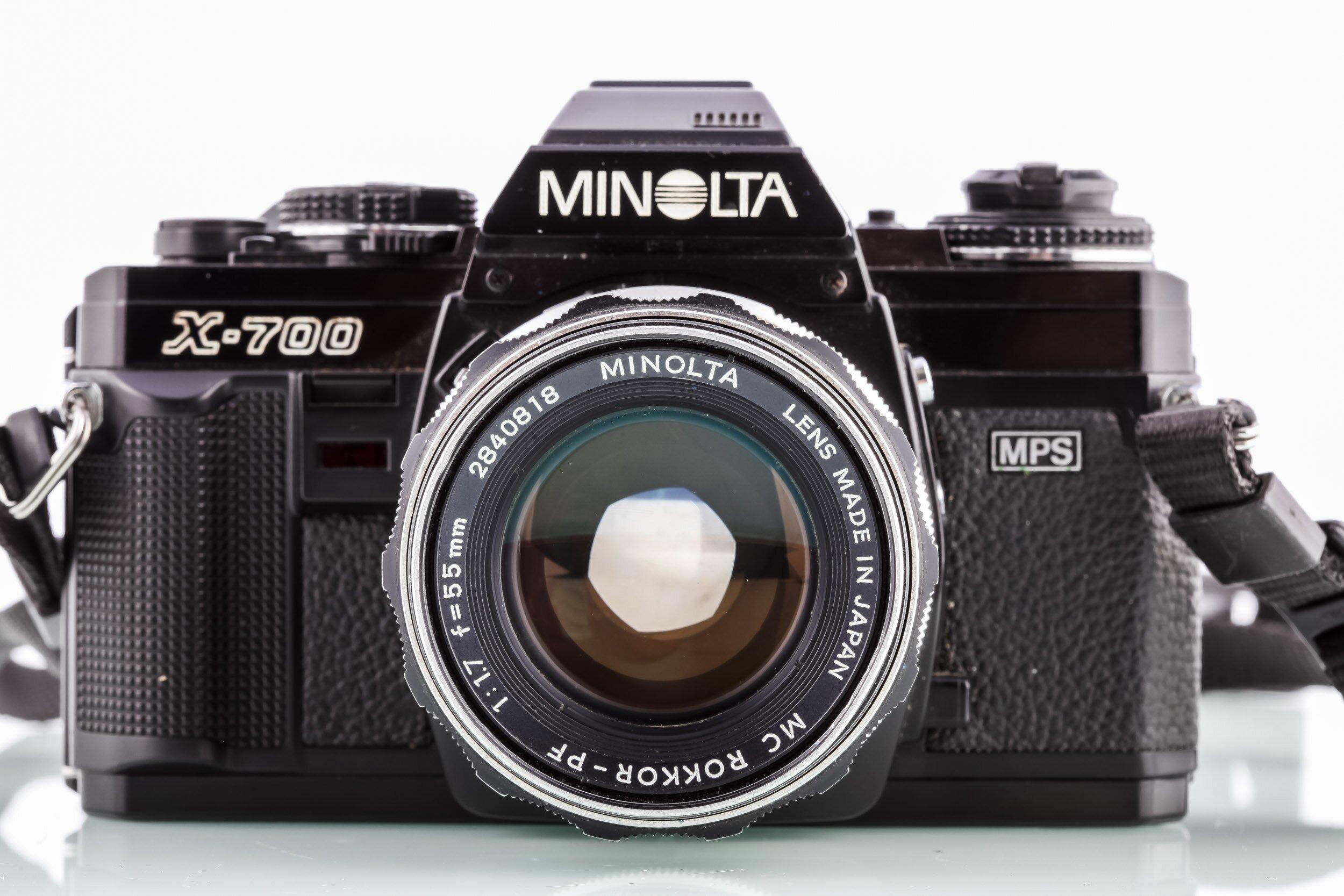 Minolta X-700 Analoge Spiegelreflexkamera cult