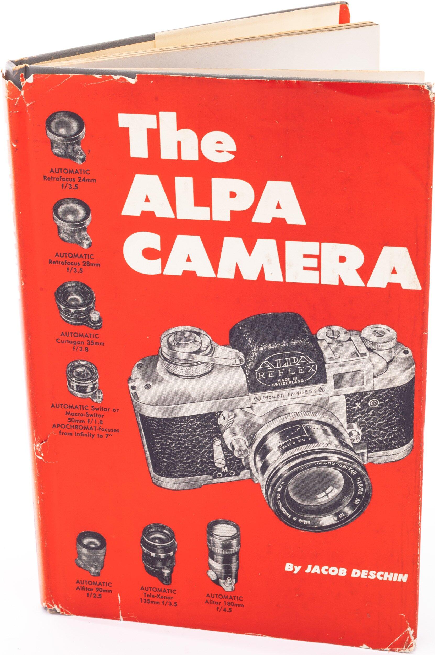 The Alpa Camera, by Jacob Deschin, Buch
