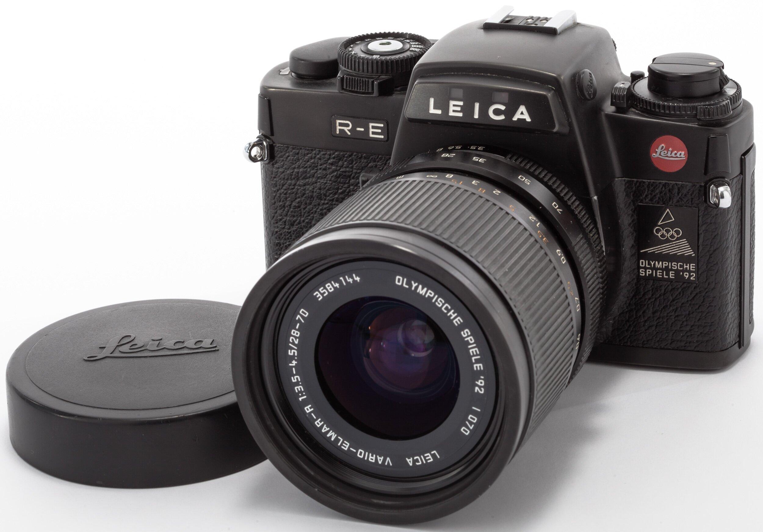 Leitz Leica R-E mit R Vario Elmar 28-70mm F3.5-4.5 Black