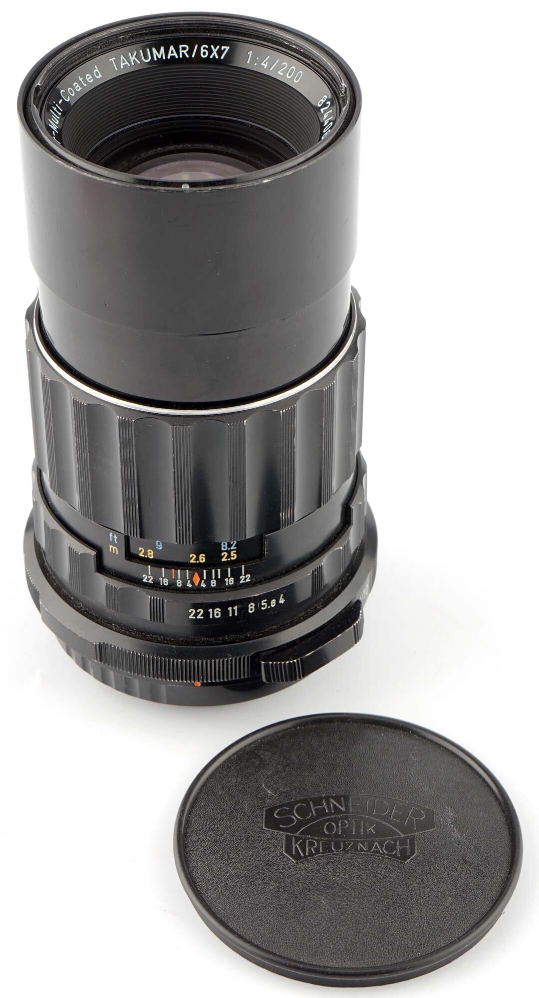 Pentax Asahi Super MC Takumar / 6x7 1:4,0/200mm