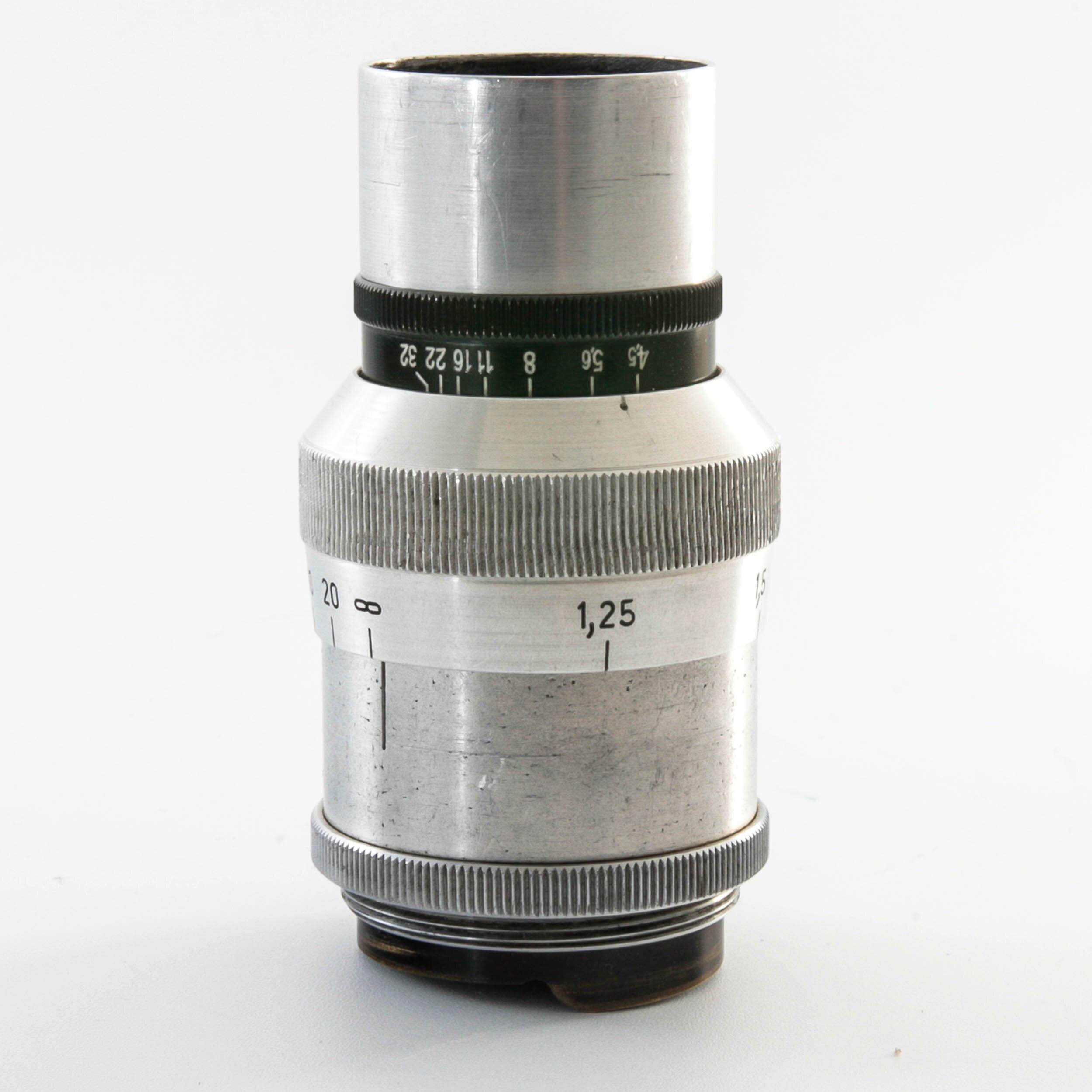 Carl Zeiss Tessar 7,5cm F1:4.5 M39 mit Kupplung