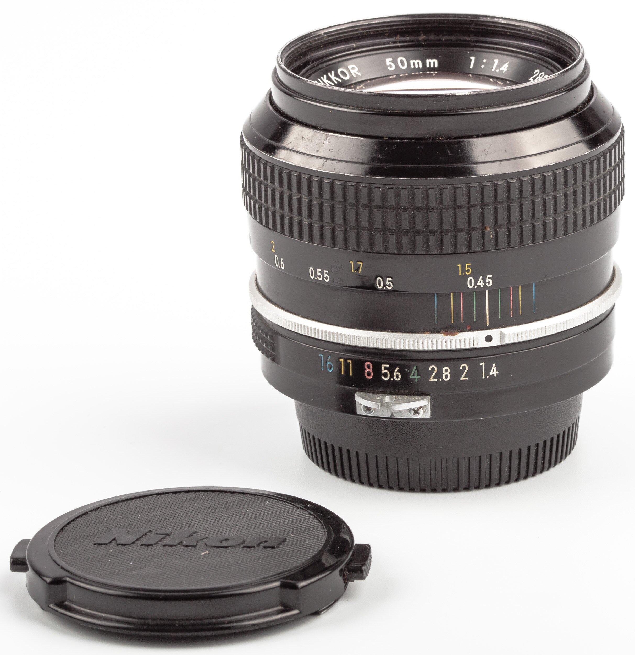 Nikon 50mm F1.4 Nikkor non AI