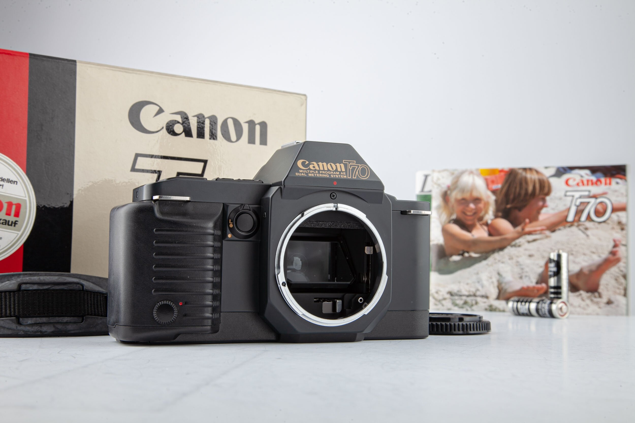 Canon T70 Gehäuse OVP