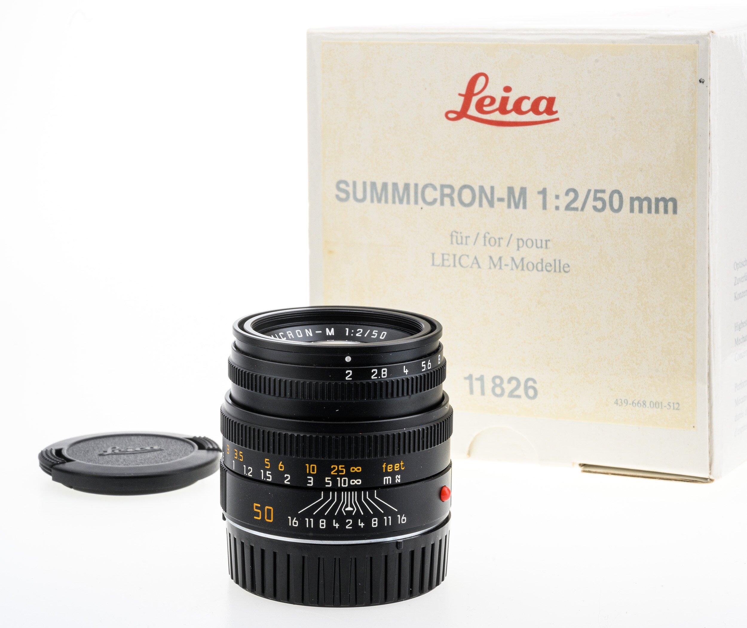 Leica Summicron-M 2/50mm #11826