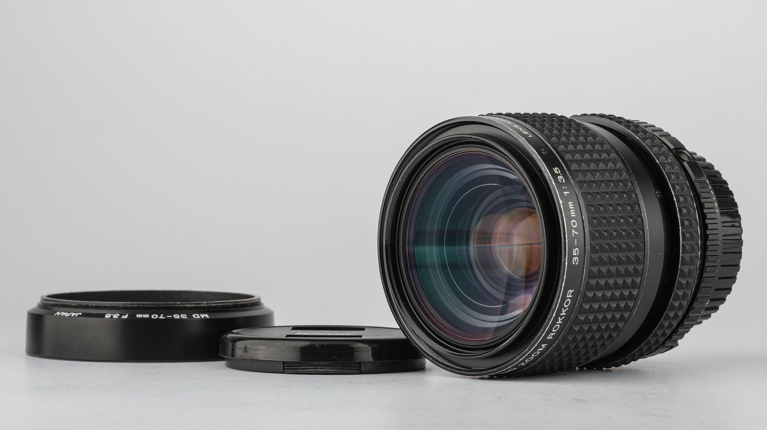Minolta MD 35-70mm 3,5 Zoom Rokkor