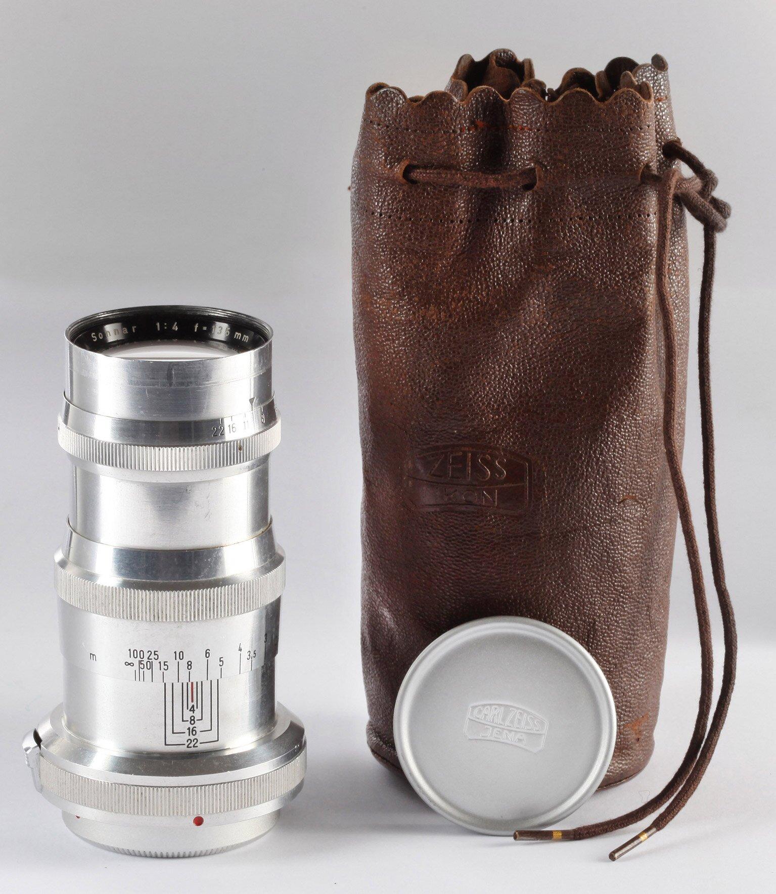 Zeiss-Opton Sonnar 4/135mm für Contax RF