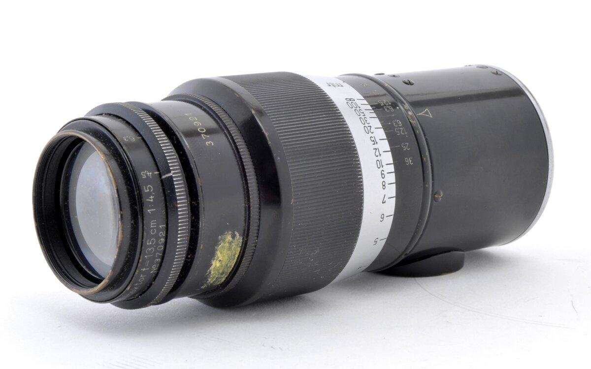 Leica Hektor 13,5cm F4,5 schwarz