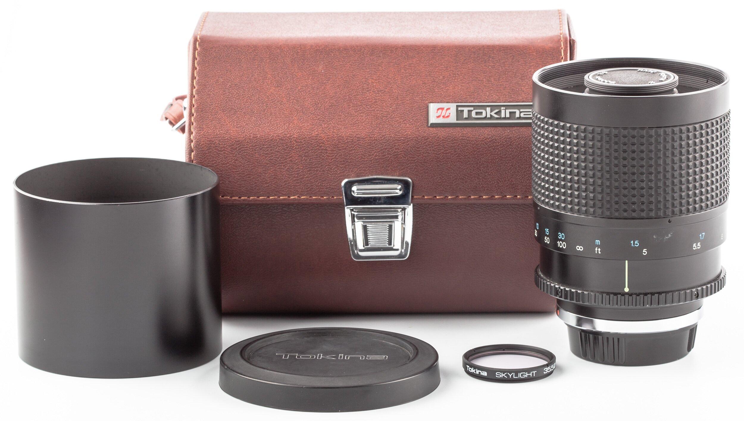Tokina RMC  Objektiv 500 mm 8 Contax RTS Spiegelobjektiv