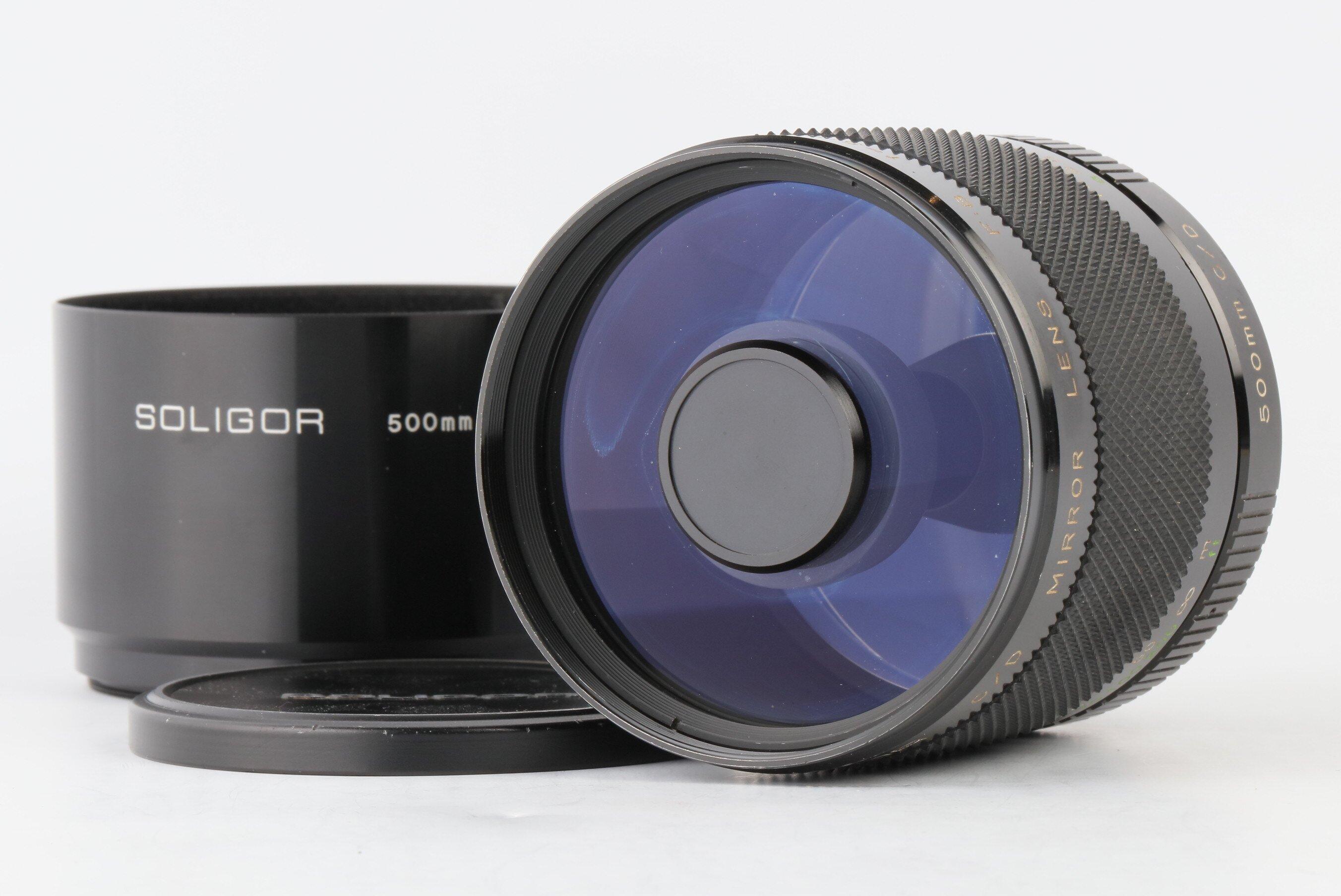 Soligor 8/500mm C/D Mirror lens Spiegeltele für Pentax K T2