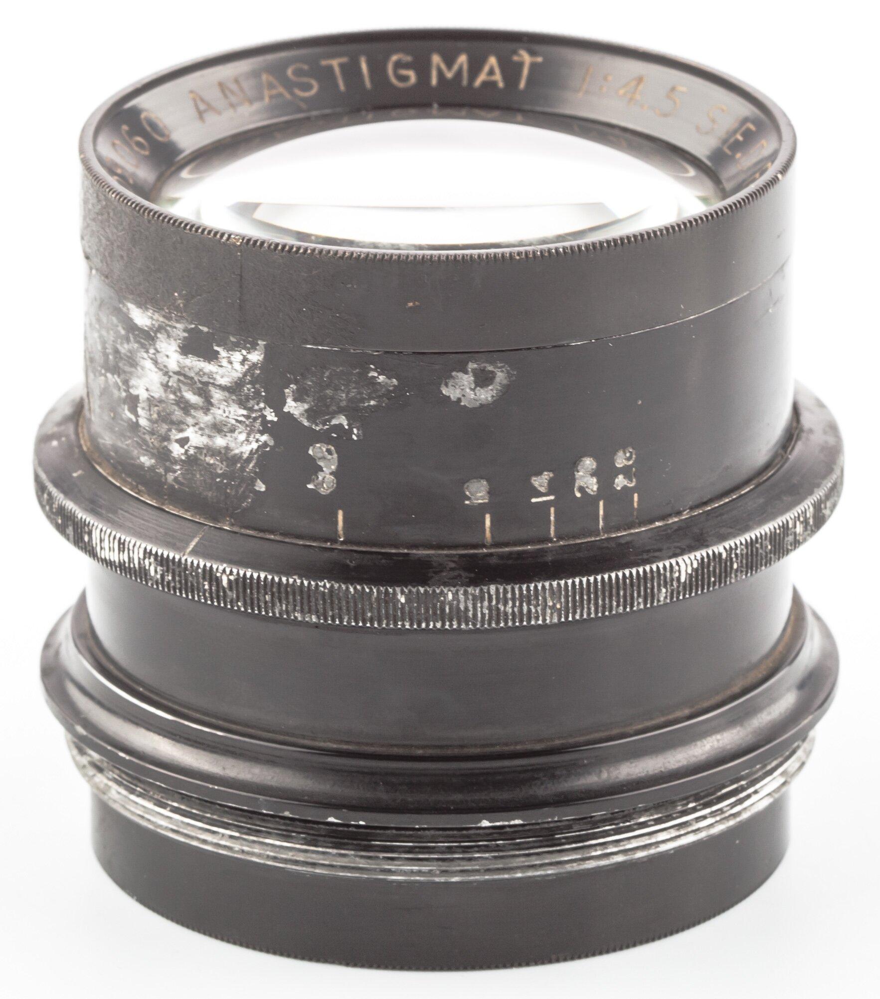 Hermagis Paris Anastigmat 210mm 4,5 Serie D