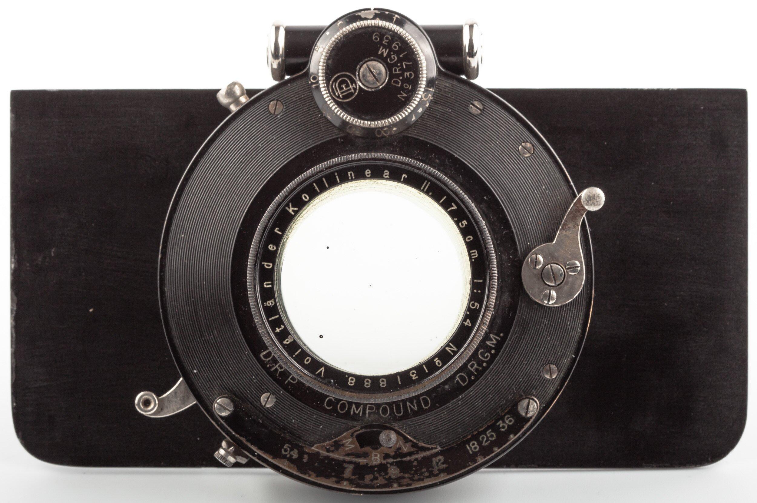 Voigtländer Kollinear II 17,5 cm 5,4 Objektiv