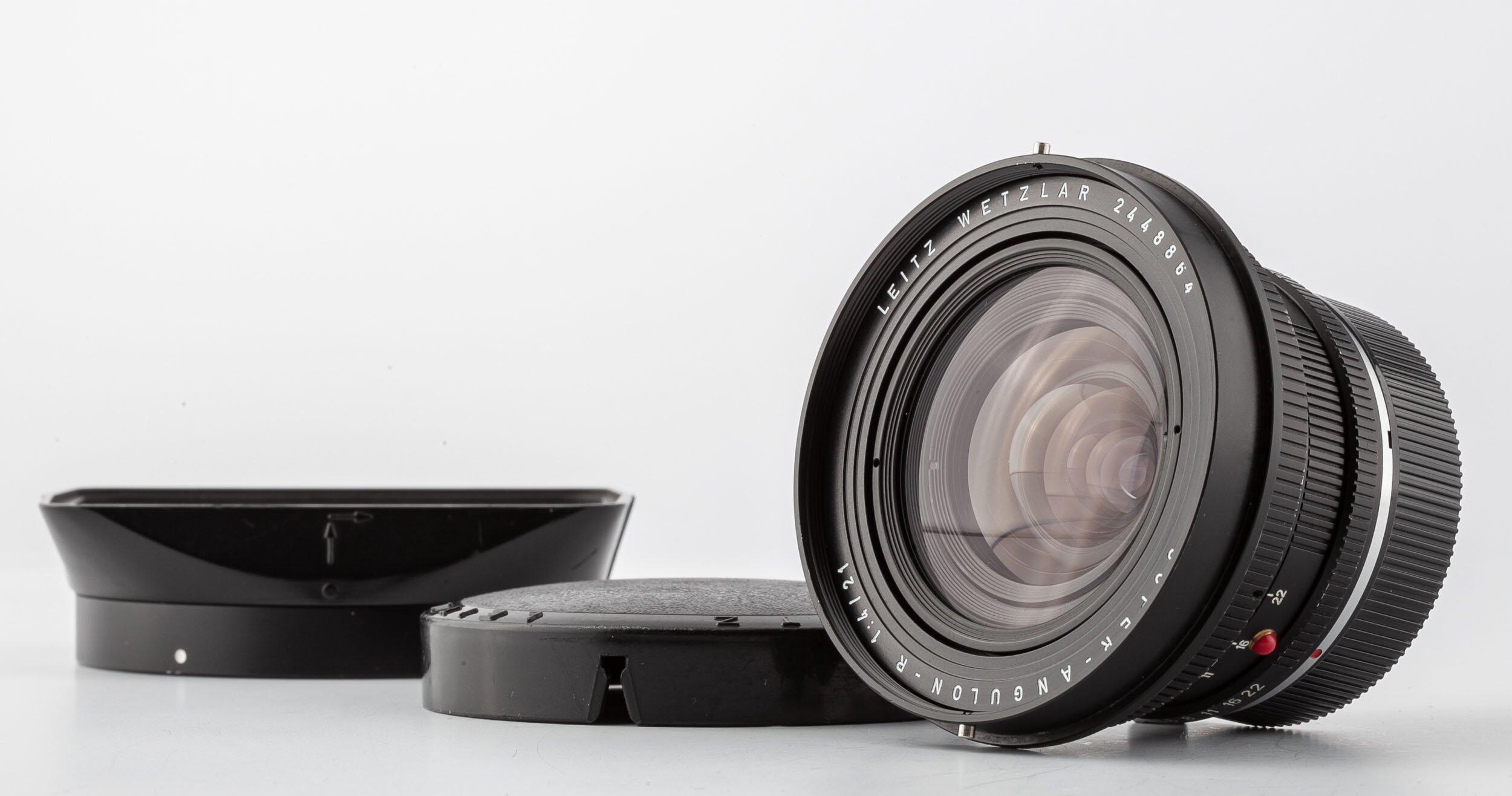 Leitz Leica R Super Angulon 21mm F4.0 Black
