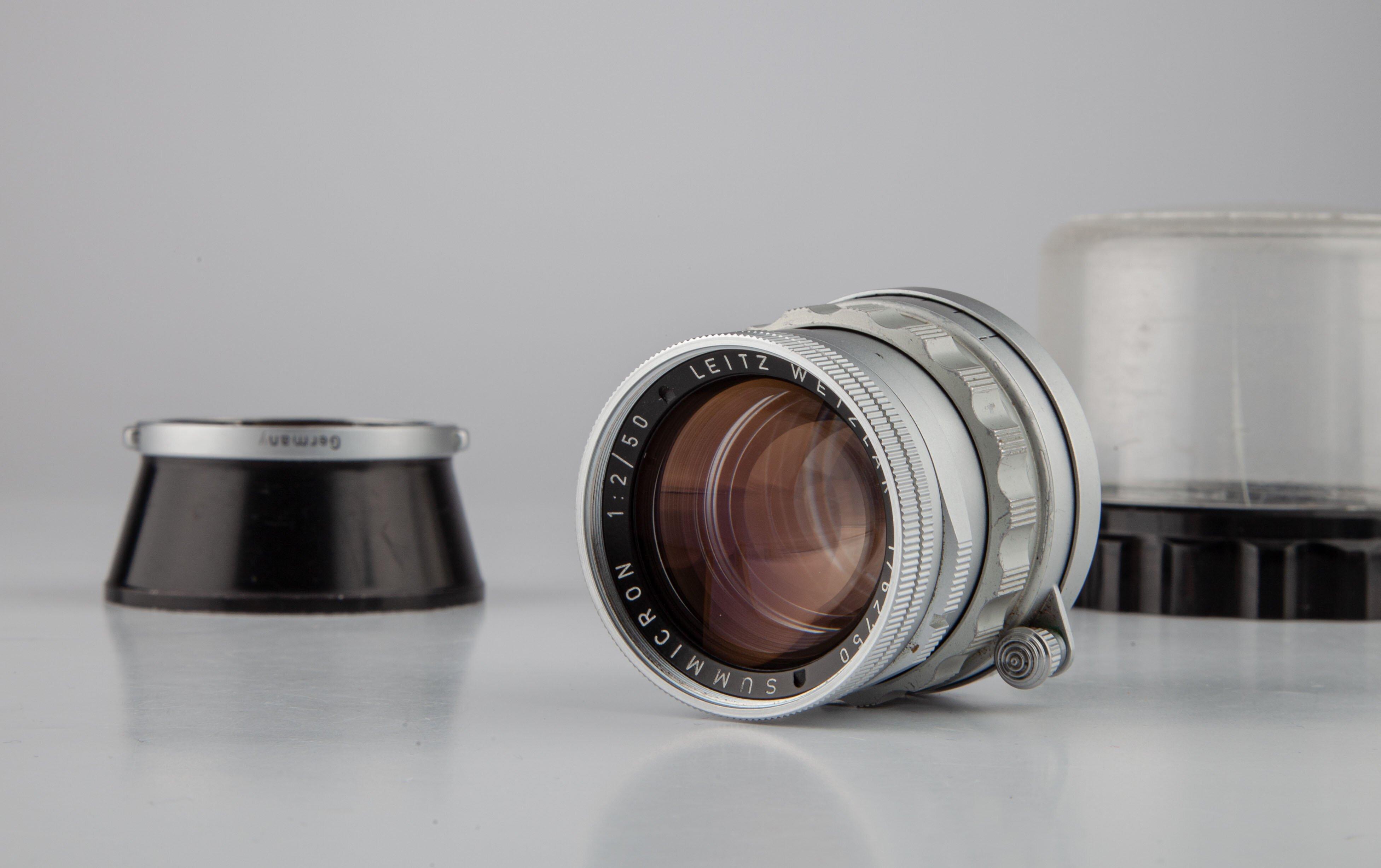 Leica M39 Summicron rigid  1:2 50 mm SOSTA