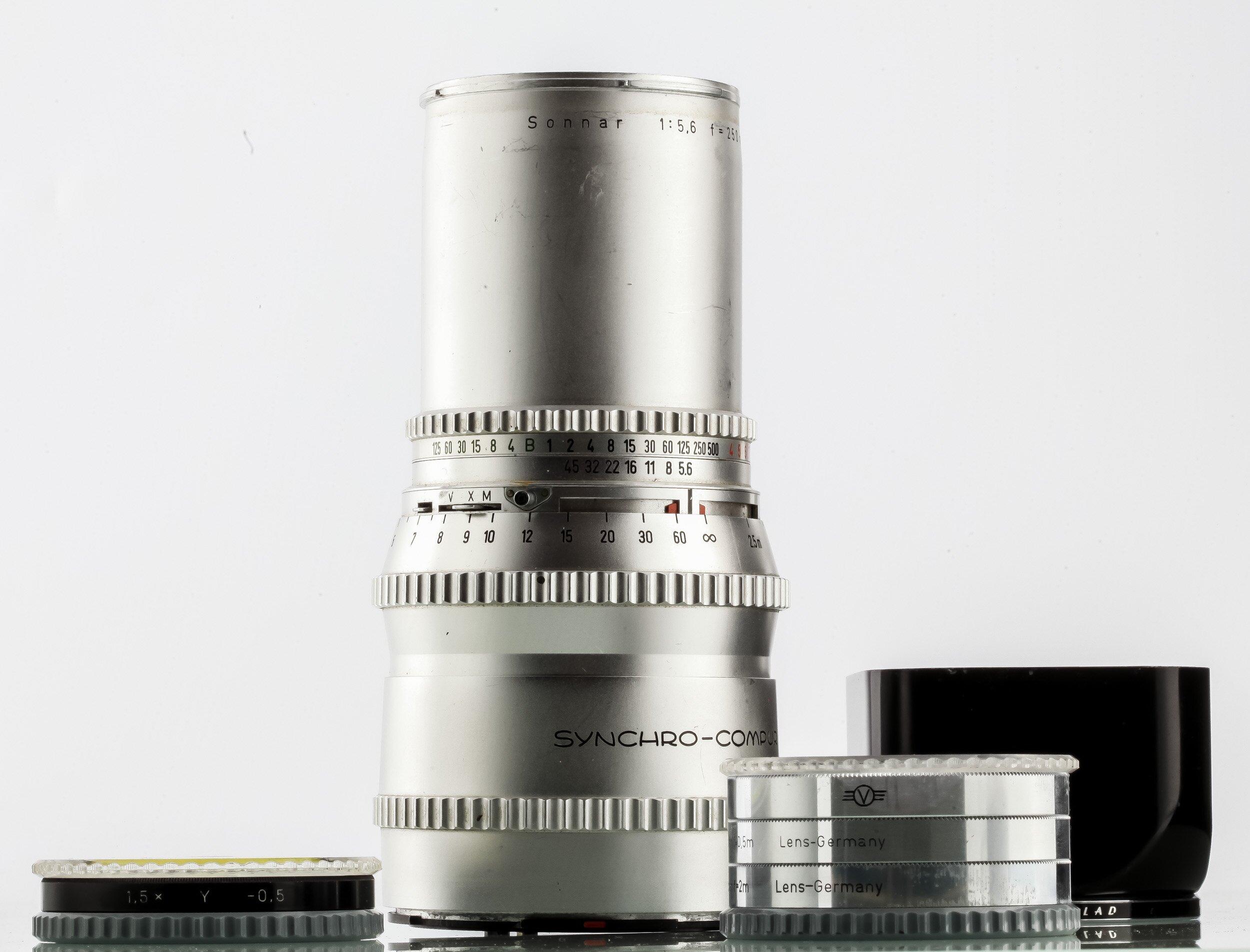 Hasselblad V Sonnar 5,6/250mm chrom