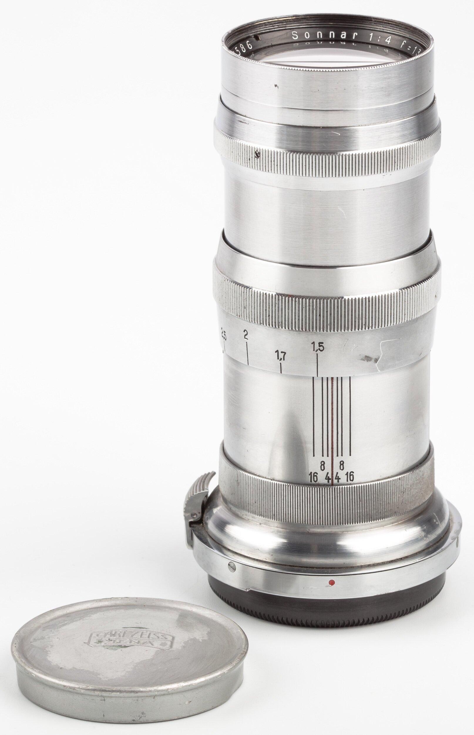 Carl Zeiss f. Contax RF 4/13,5cm Sonnar