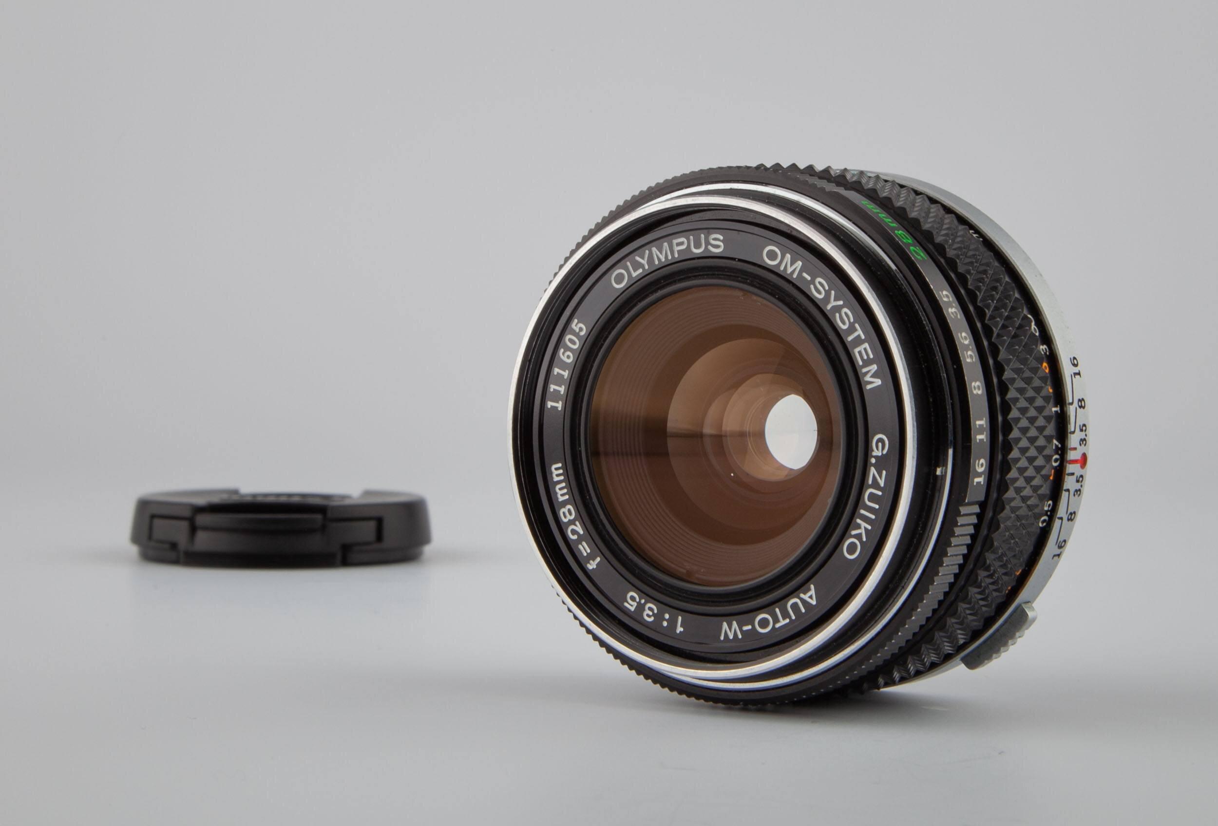 Olympus OM-System G.Zuiko Auto-W 28mm F3,5