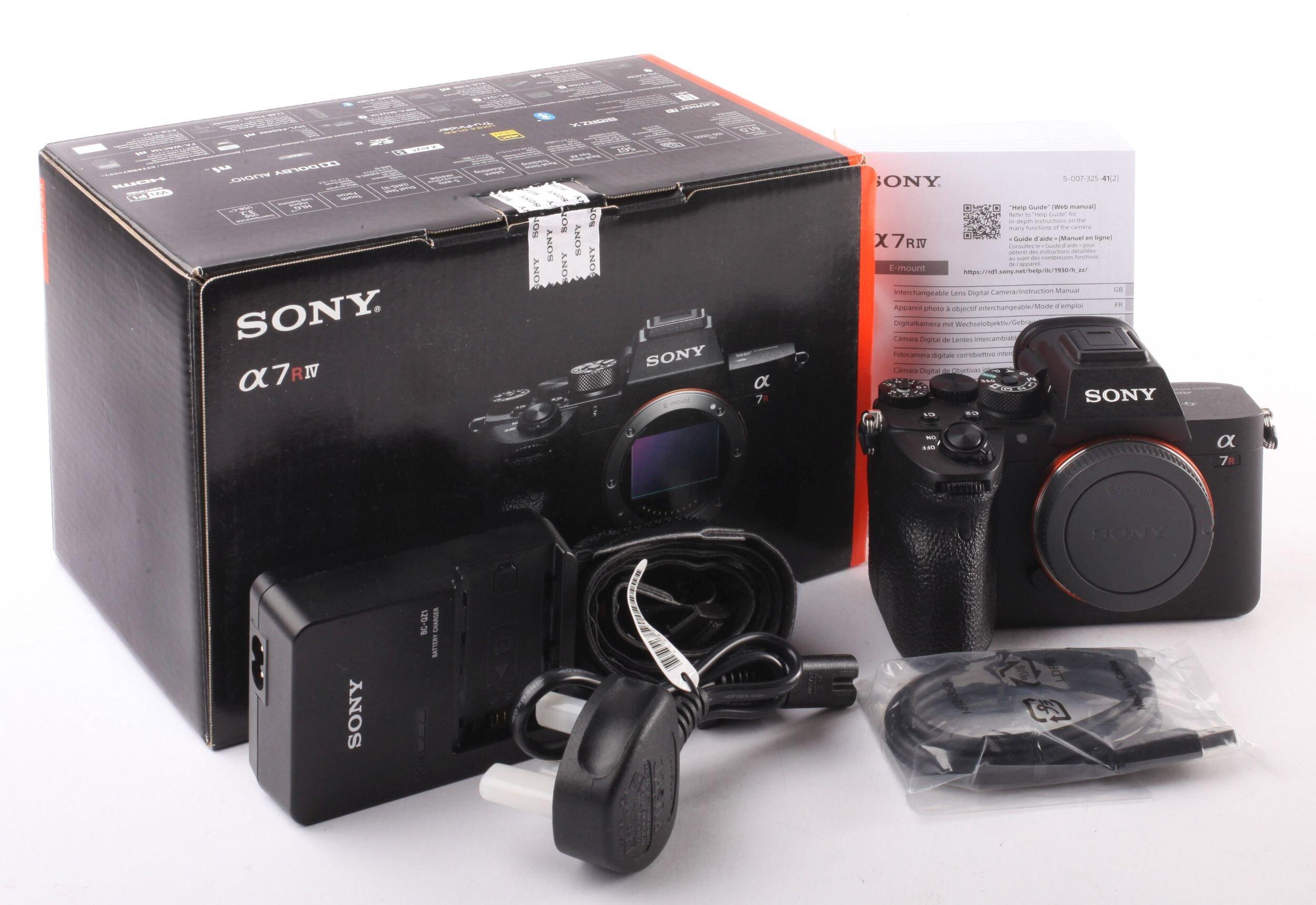 Sony alpha 7R IV Gehäuse 33000 Auslösungen