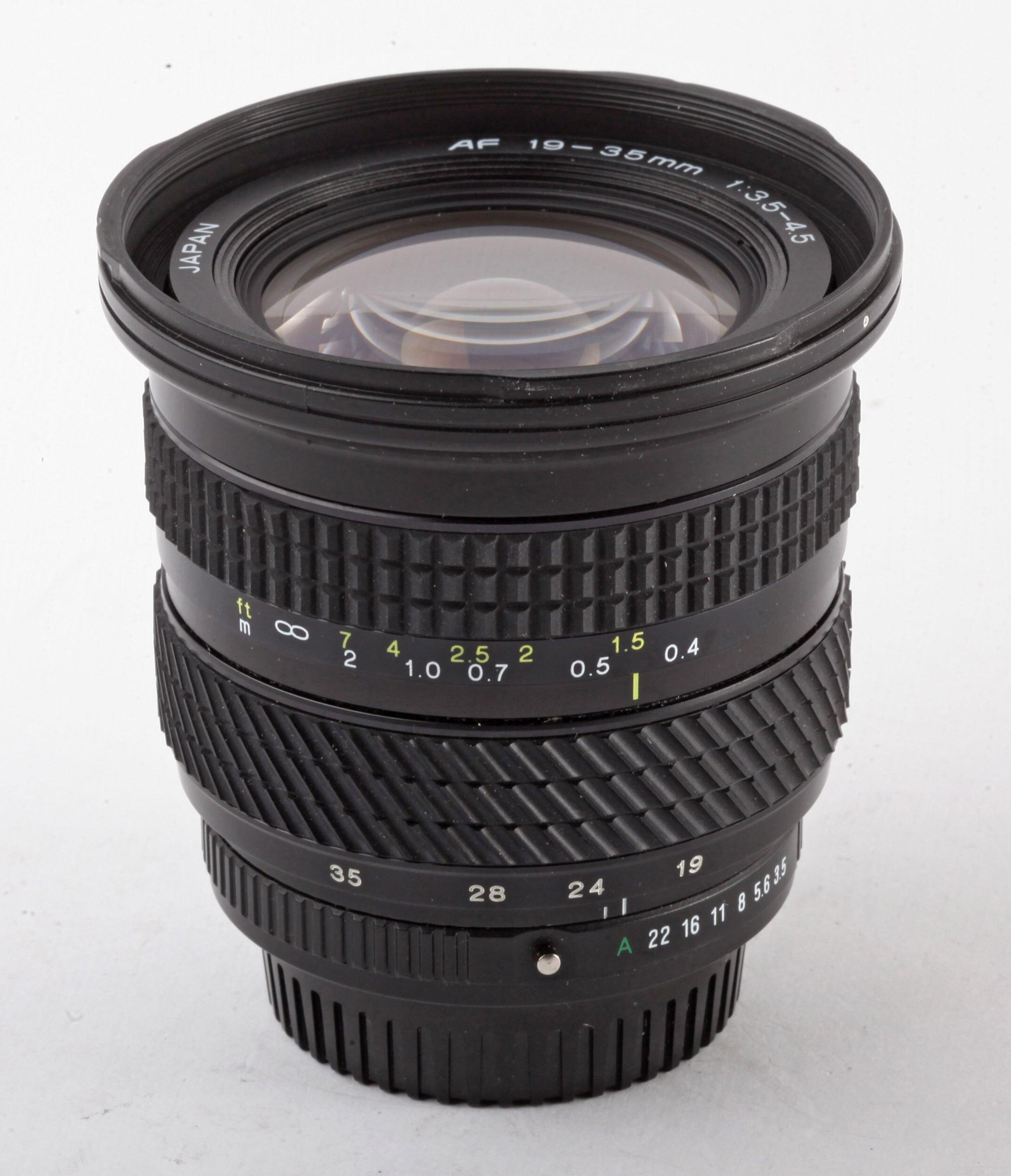 Tokina AF 19-35mm 3,5-4,5 für NPentax