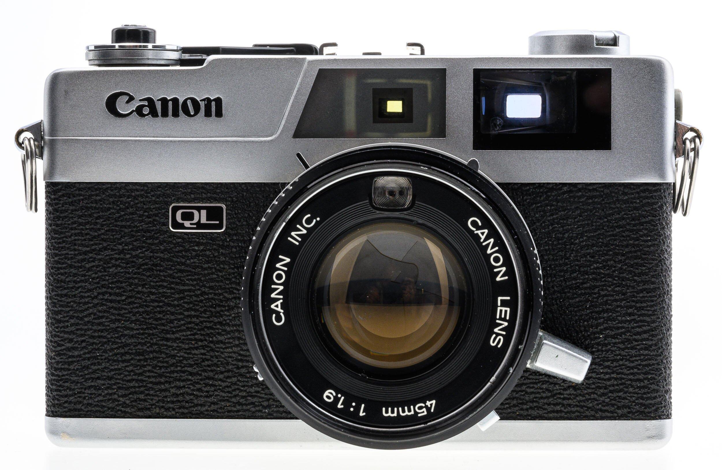 Canon Canonet QL19 1,9/45mm Sucherkamera