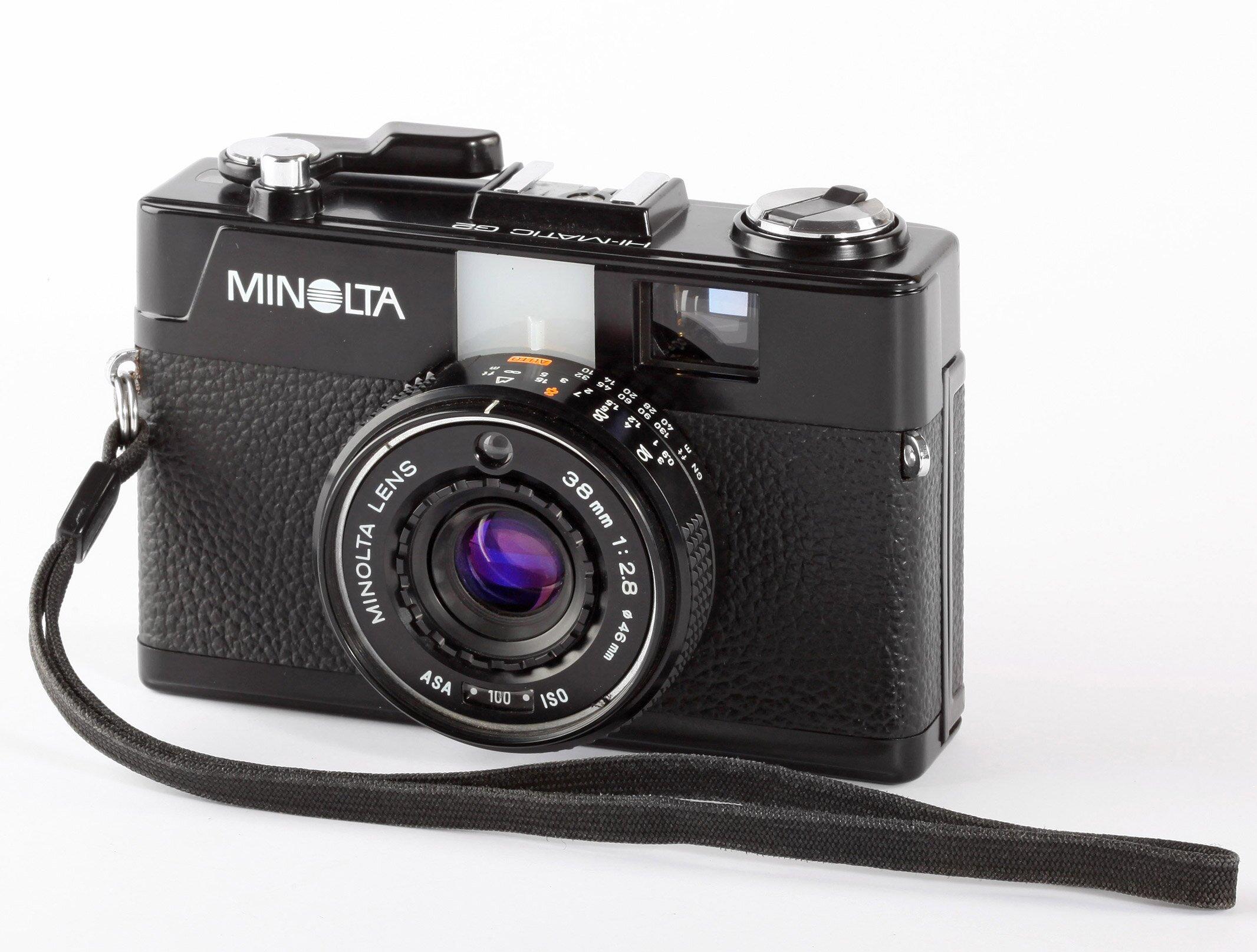 Minolta HI-Matic G2 Analoge Kompaktkamera